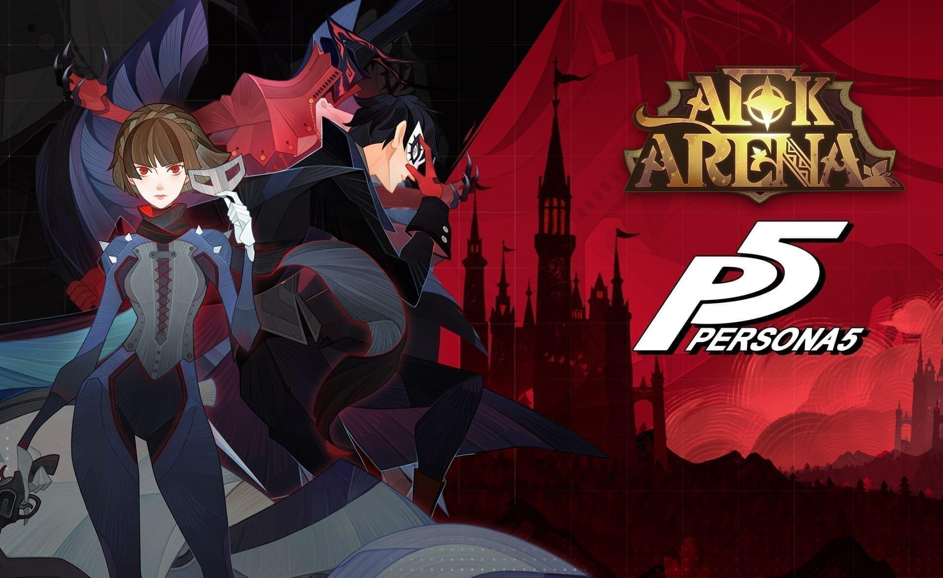 AFK Arena erhält mit Joker und Queen zwei neue Charaktere aus dem JRPG Persona 5