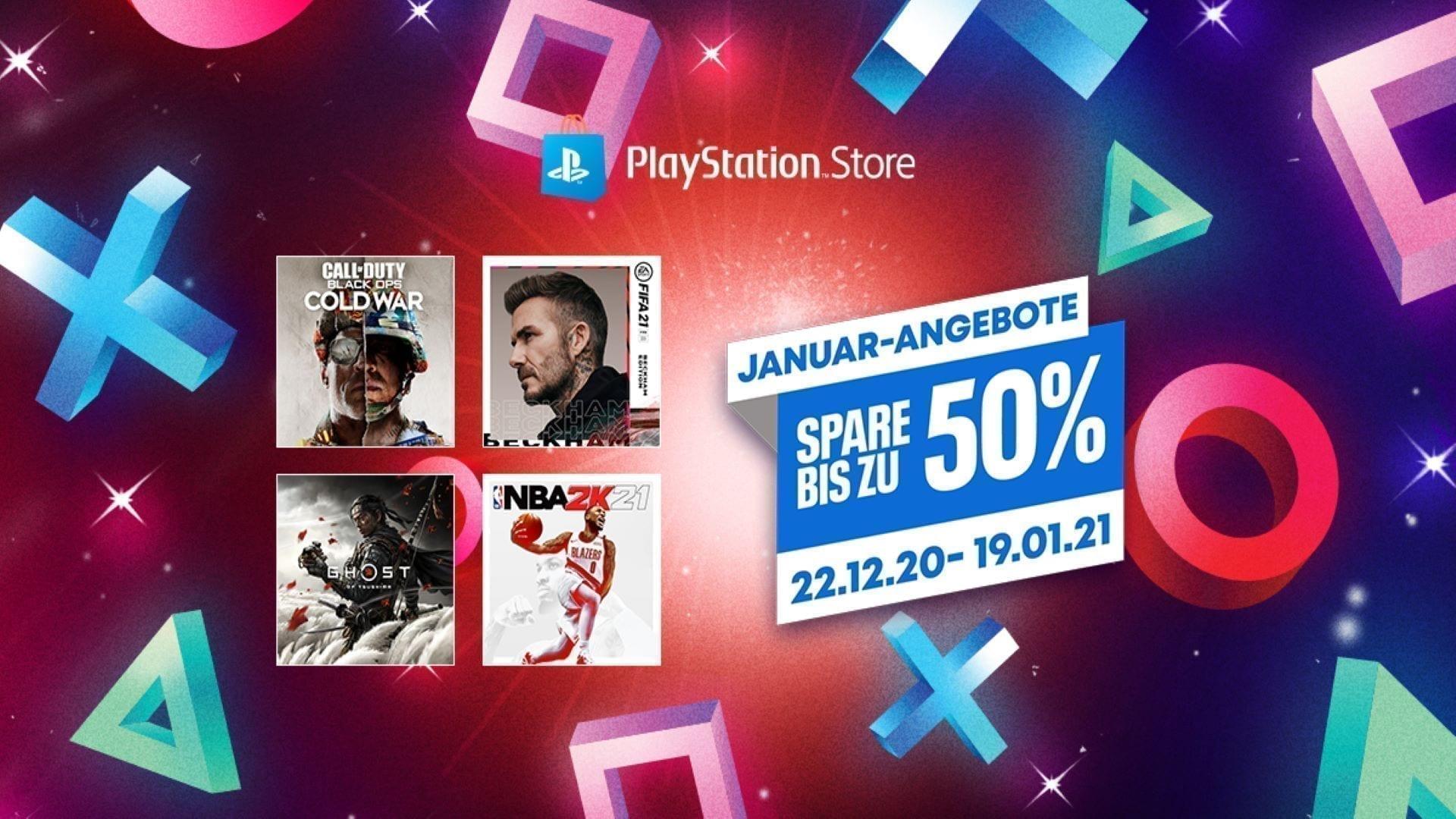 PlayStation Store Angebote im Januar 2021