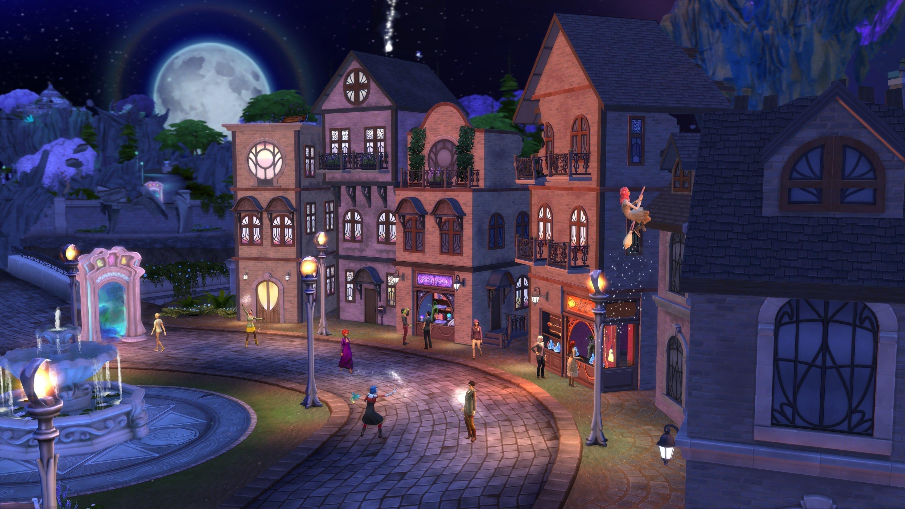 """Eine kleine Einkaufsstraße erwartet uns, und erinnert stark an Harry Potter's """"Winkelgasse""""!"""