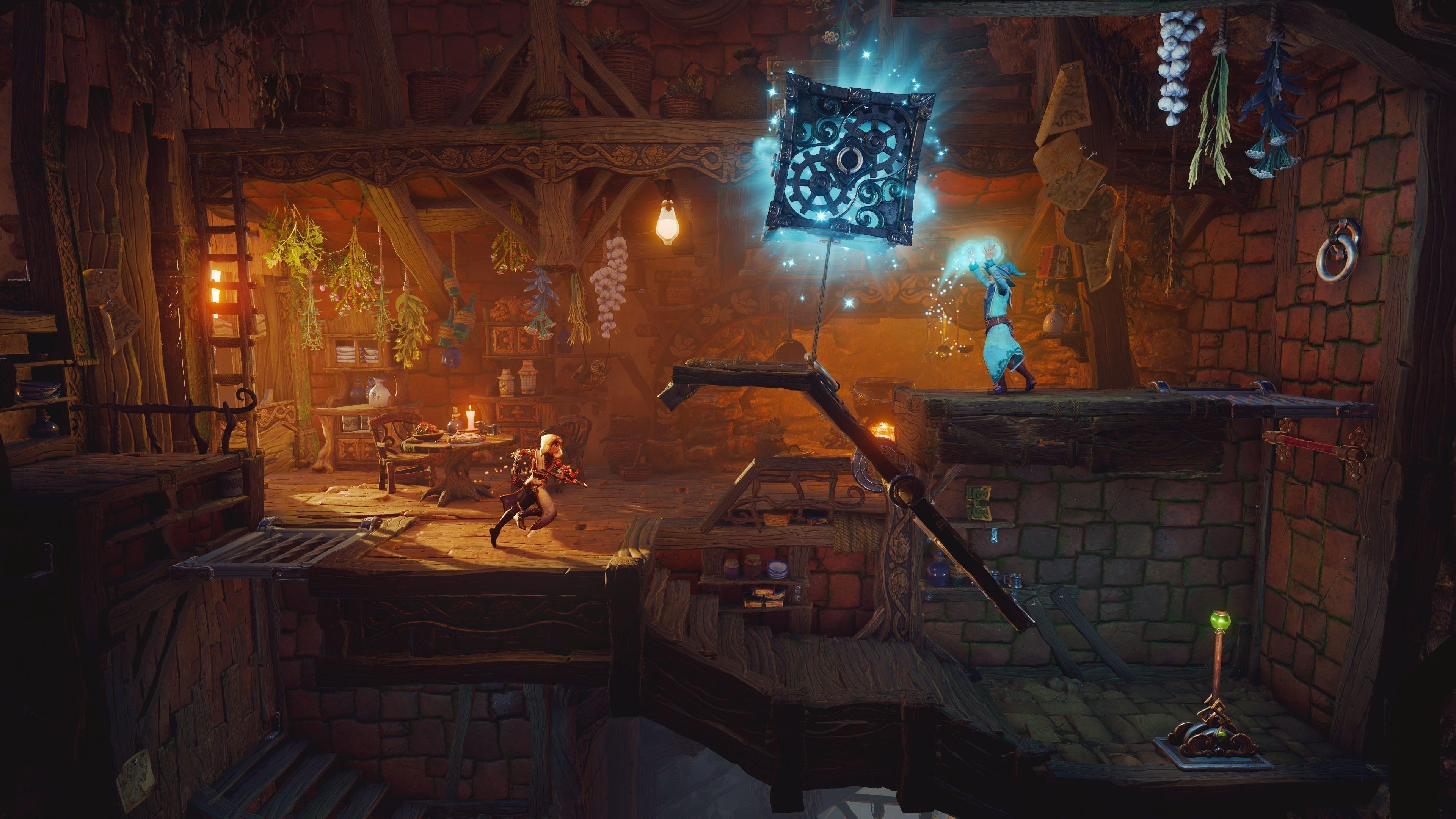 Bei der märchenhaften Umgebung hat Frozenbyte sich erneut selbst übertroffen. Rätsel erstrahlen in neuem Glanz...