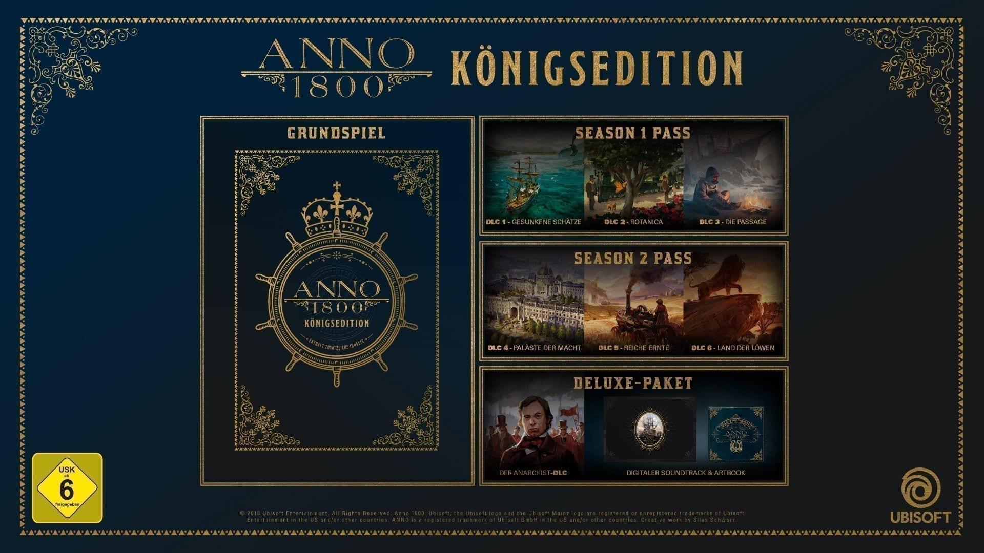 Unbisoft Store Winter Sale Screenshot des Spiels Anno 1800 Königsedition