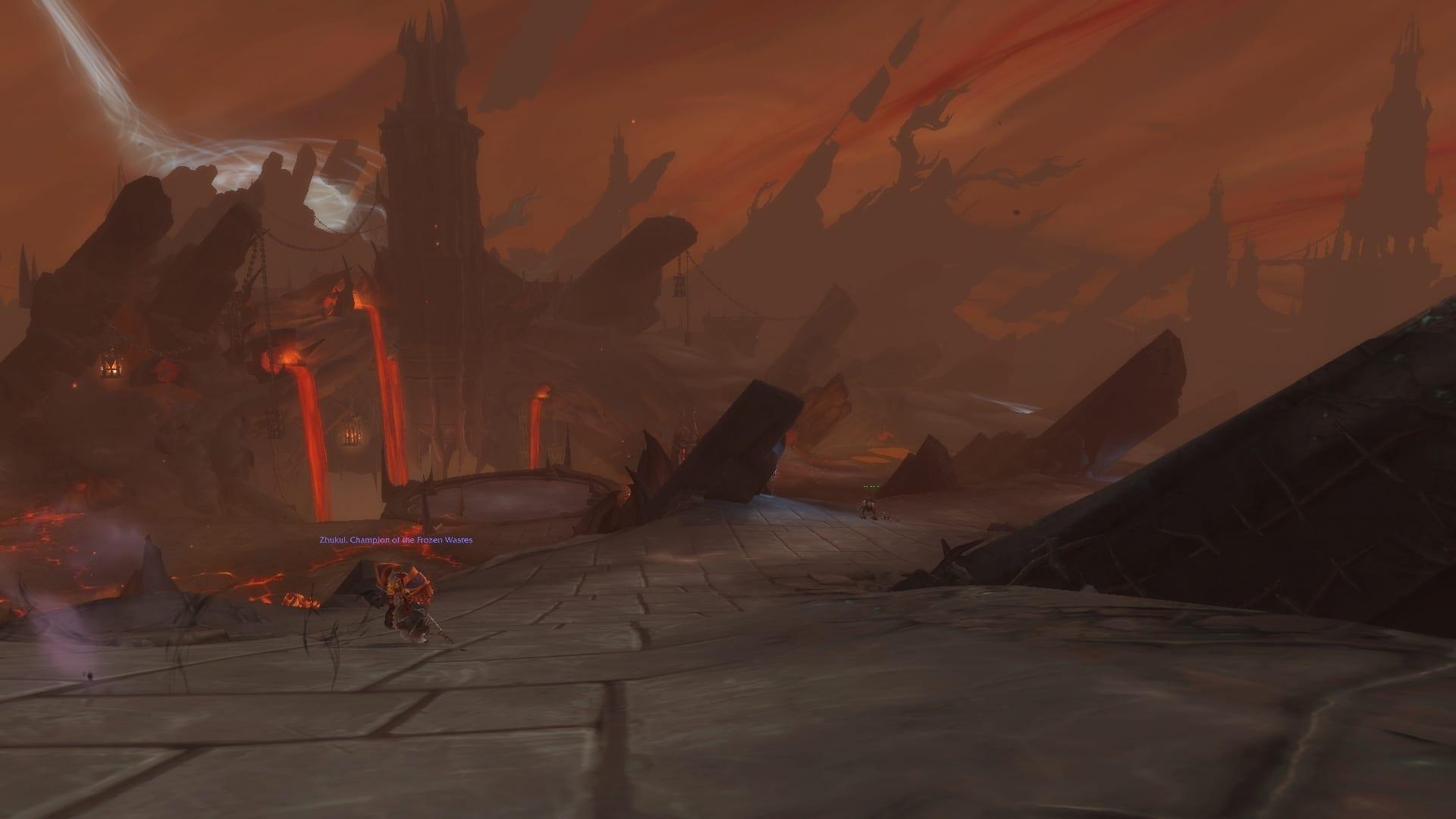 World of Warcraft Shadowlands der Schlund