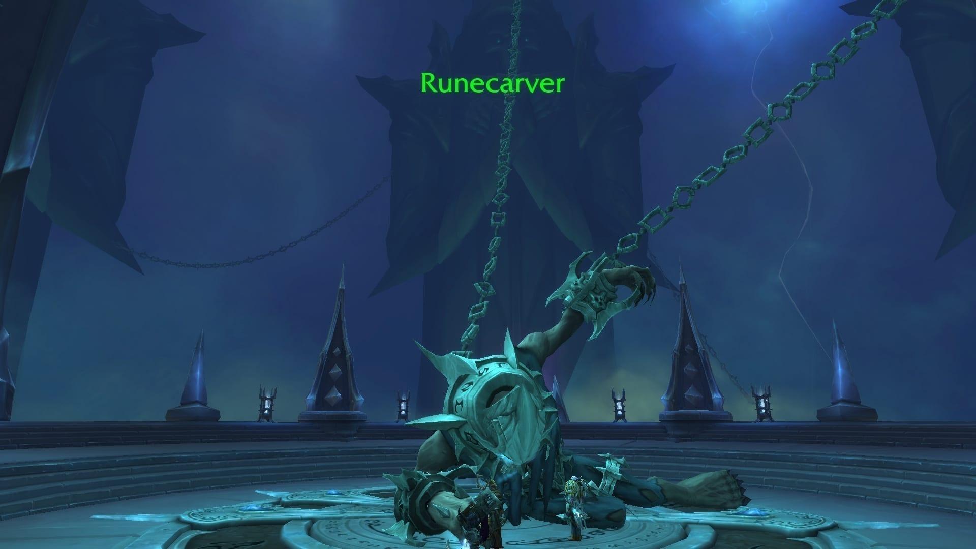 World of Warcraft Shadowlands der Runenschmied