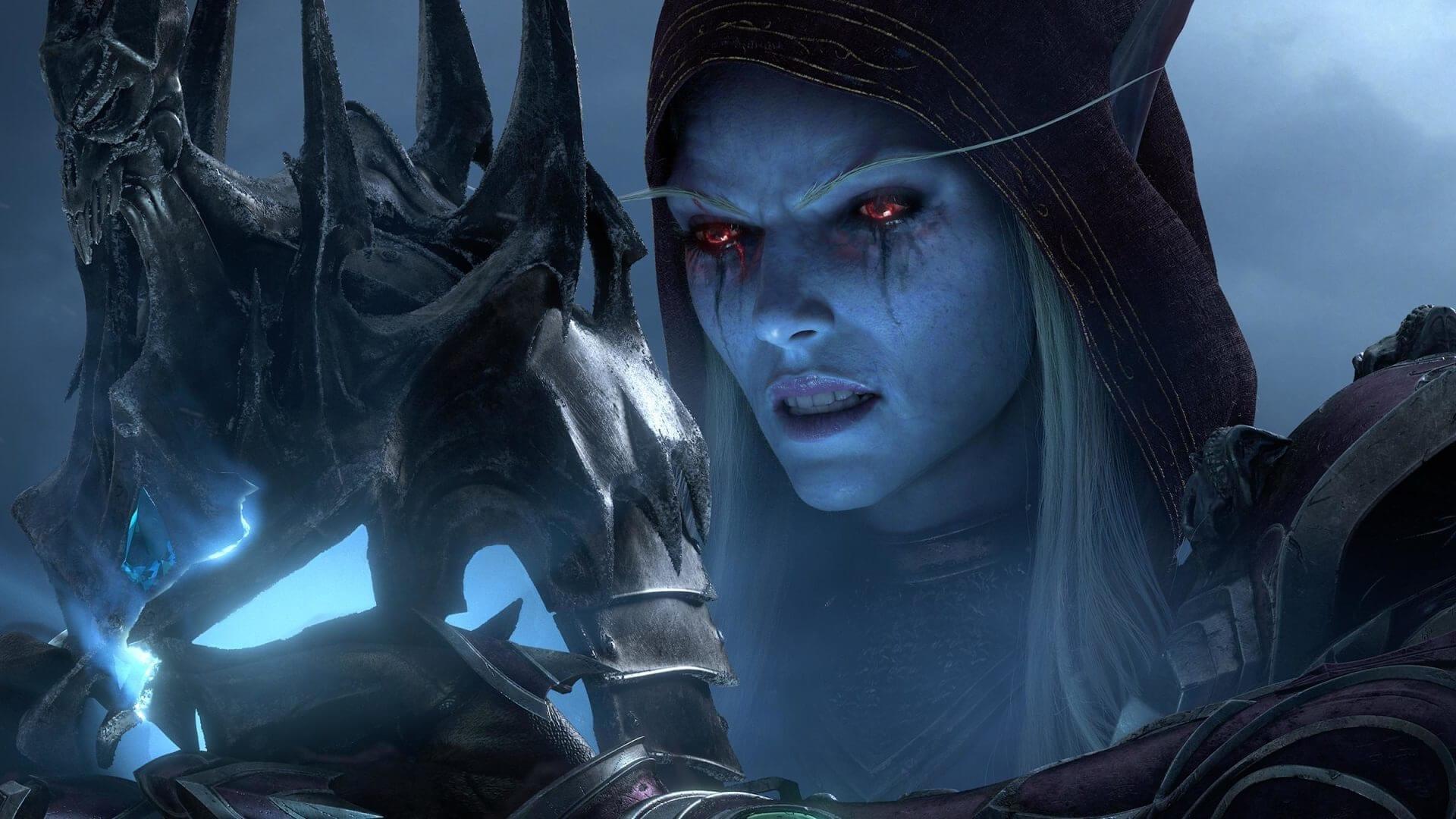 World of Warcraft Shadowlands Sylvanas Windläufer