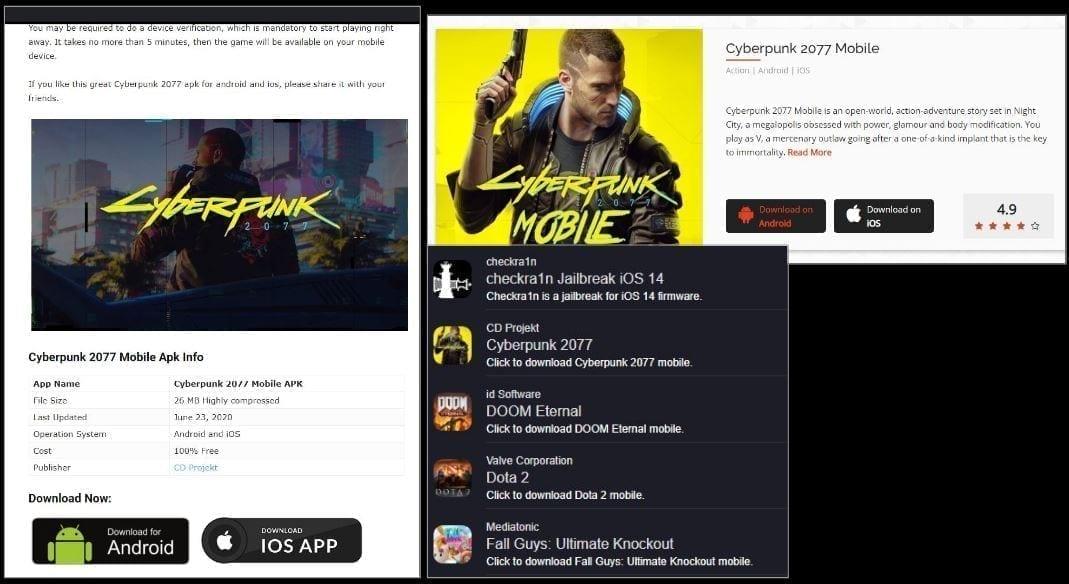 Cyberpunk 2077 - Bad Apps