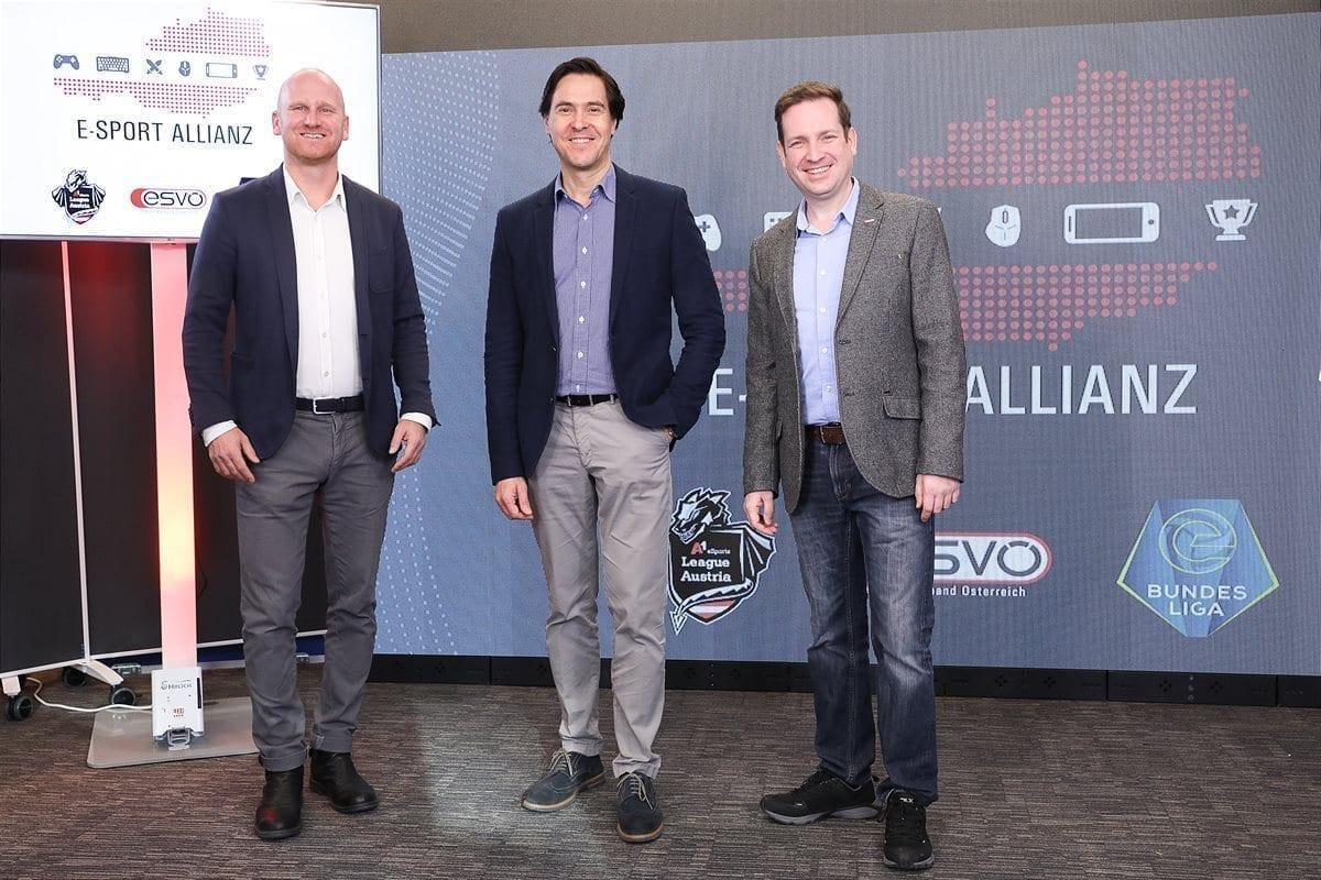 E-Sport-Allianz Österreich - Die Verantwortlichen