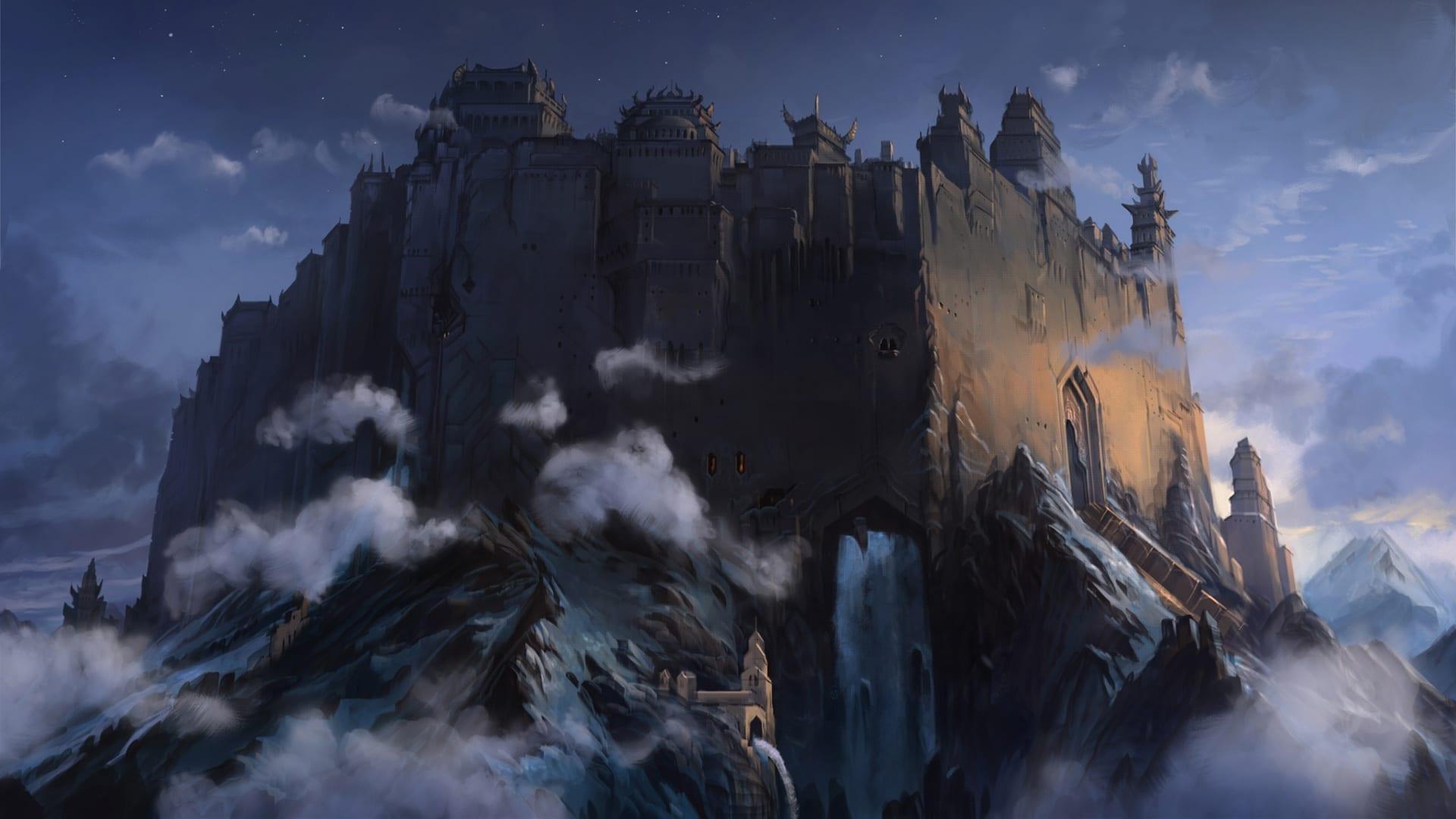Das Schwarze Auge Daedalic Memoria Schloss