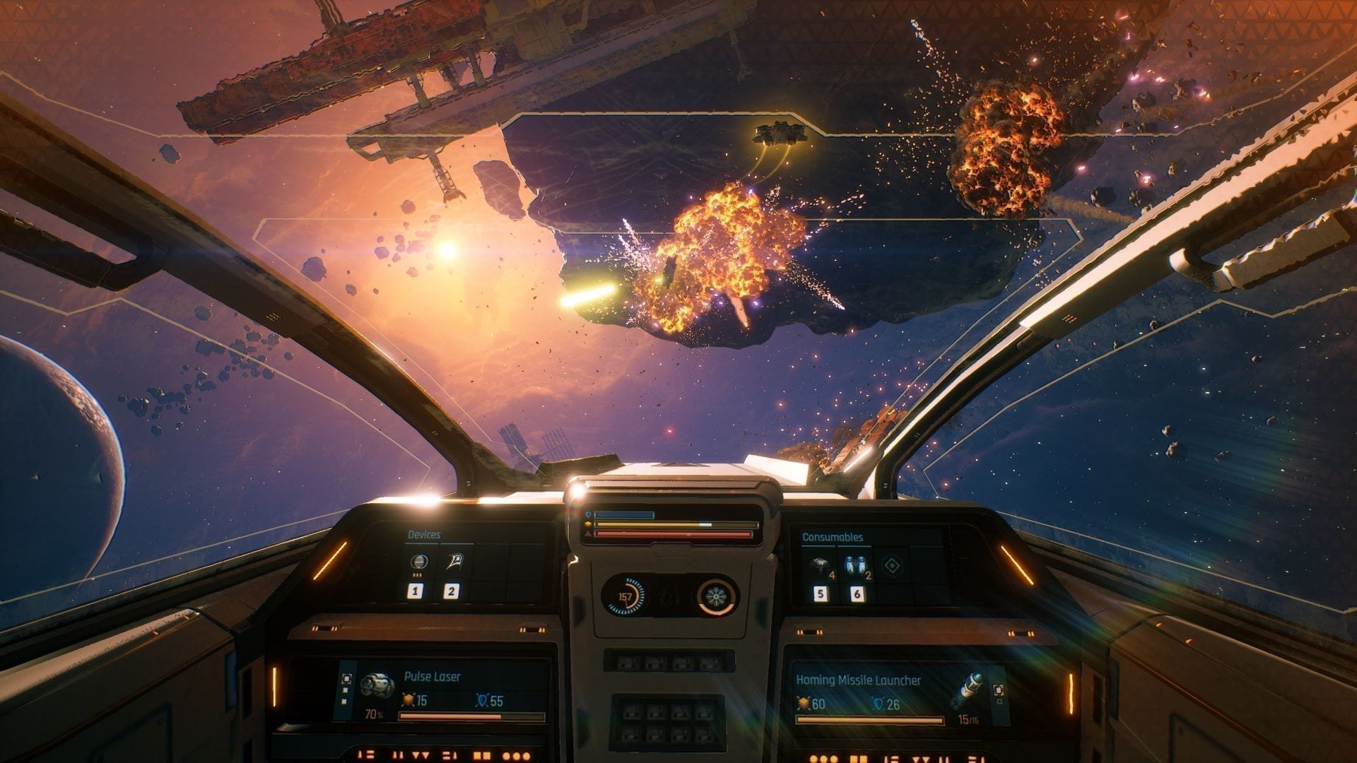 Everspace 2 Early Access Cockpit