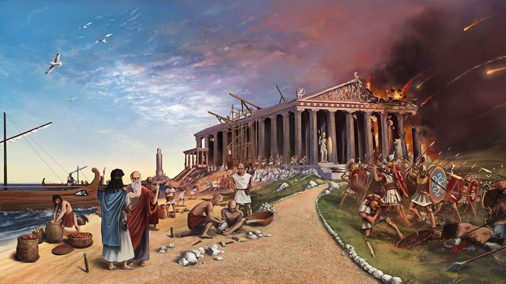 Imperiums: Greek Wars Noch mehr Perlen für den Lockdown Key Art Noch mehr Spiele für den Lockdown