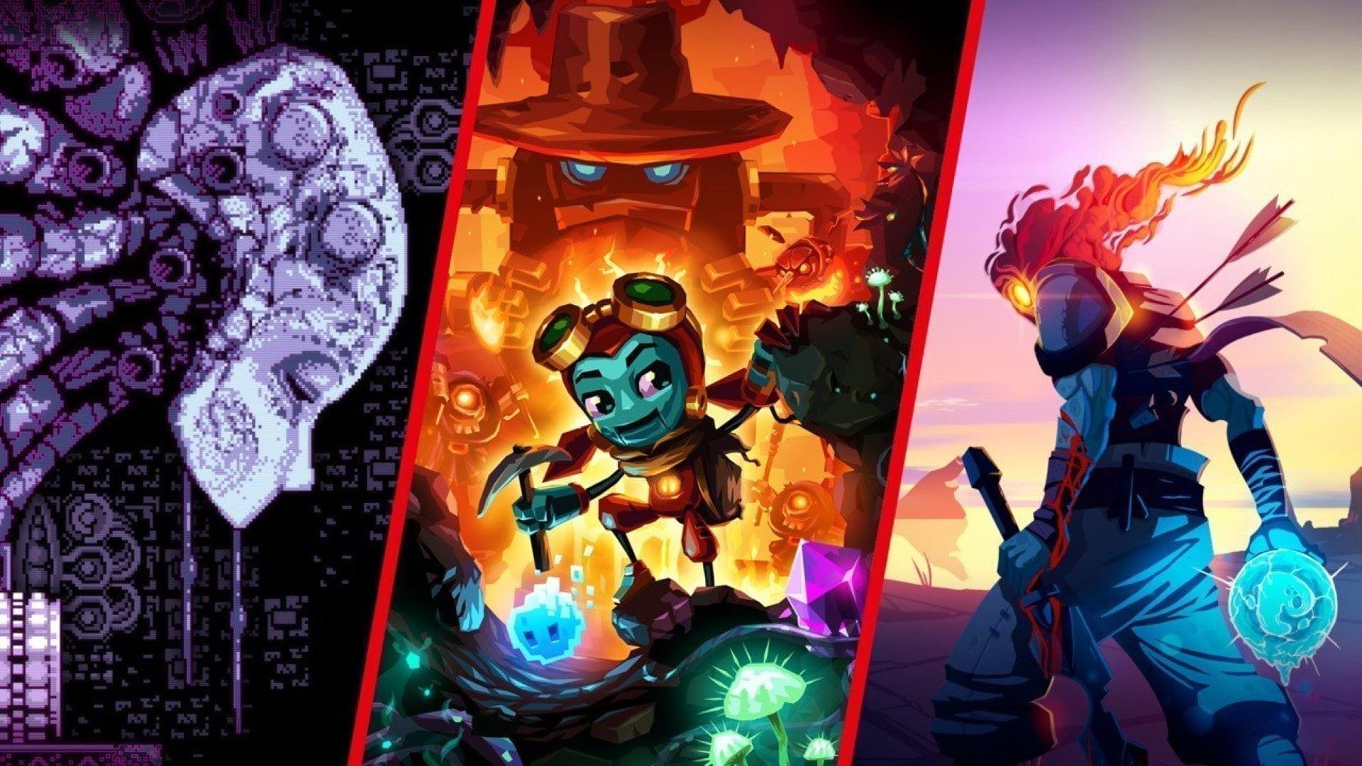 Early Access Erfolgsgeschichten Metroidvanias Collage