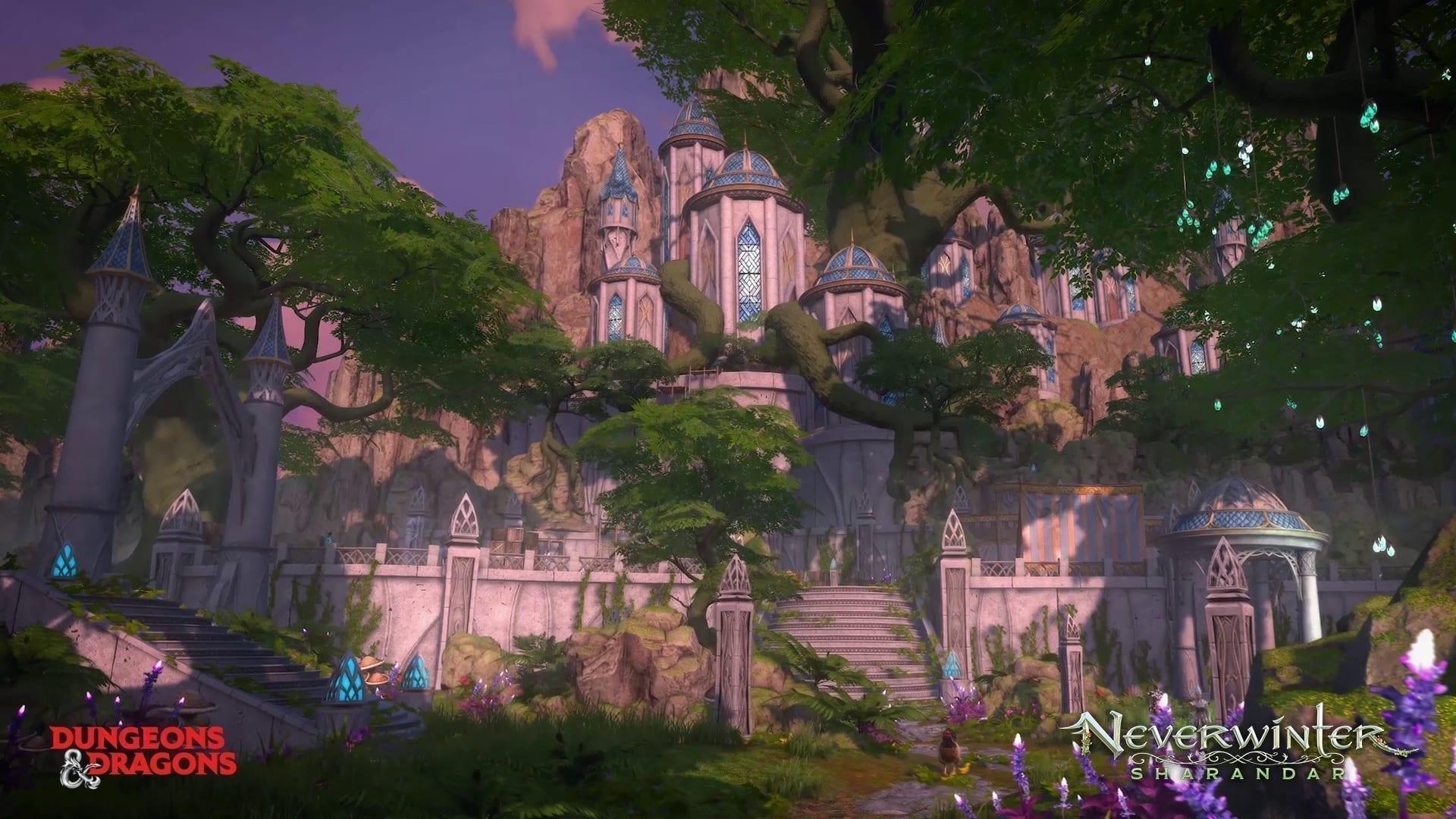 Neverwinter Sharandar Schloss