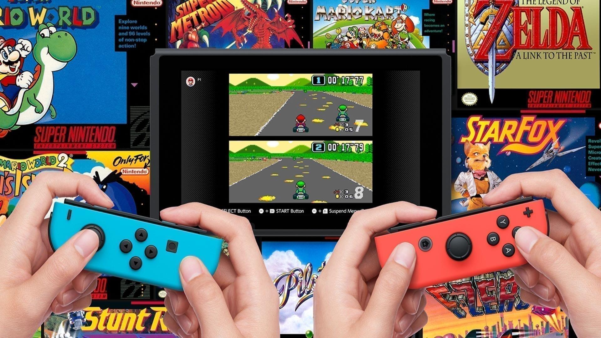 Nintendo Switch Online SNES Banner
