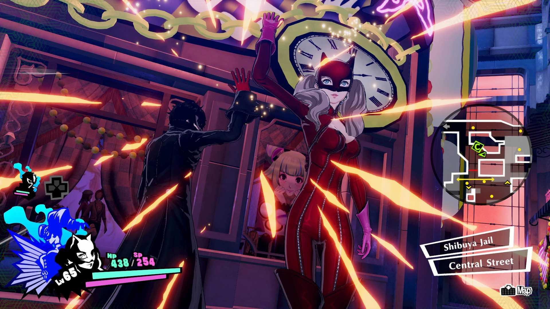 Persona 5 Strikers Cat Suit