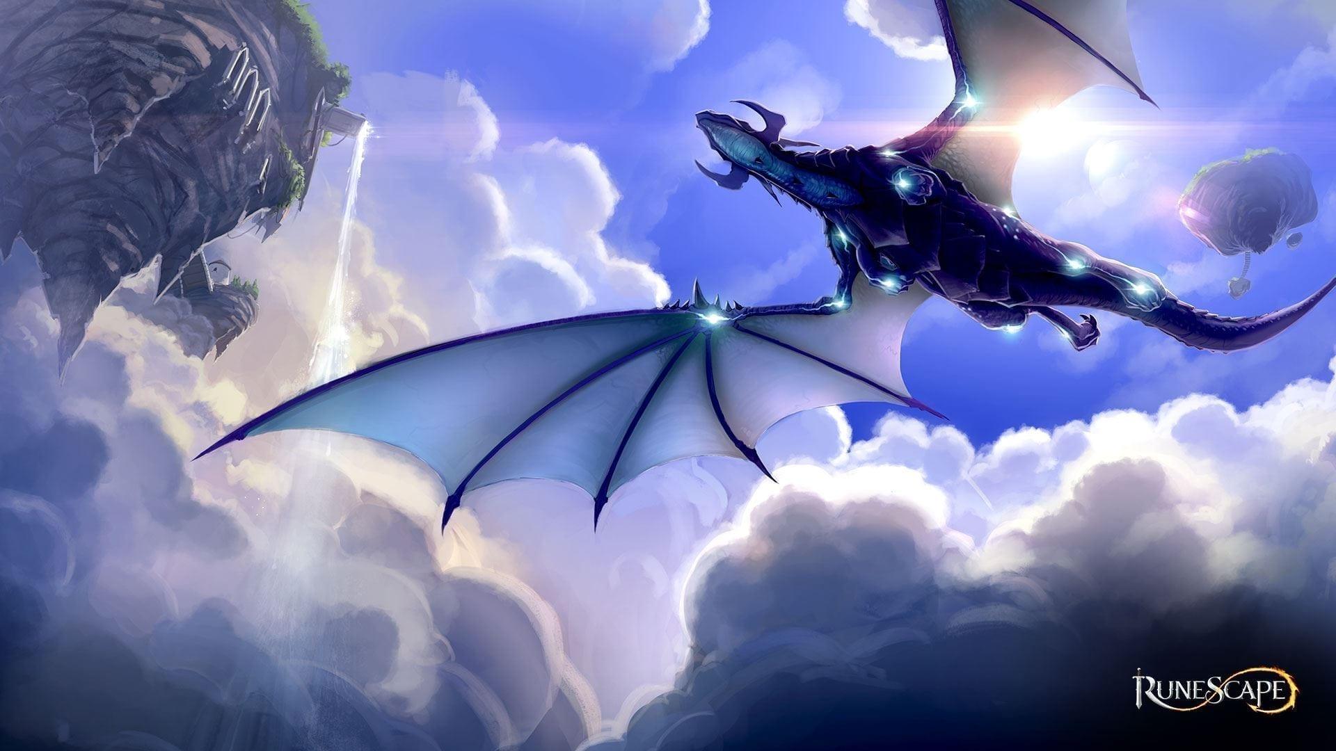 RuneScape blauer Drache