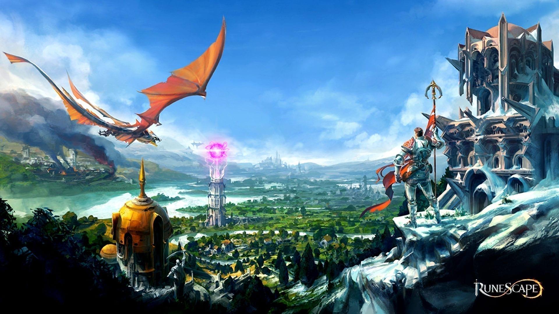 RuneScape Ritter und Drache