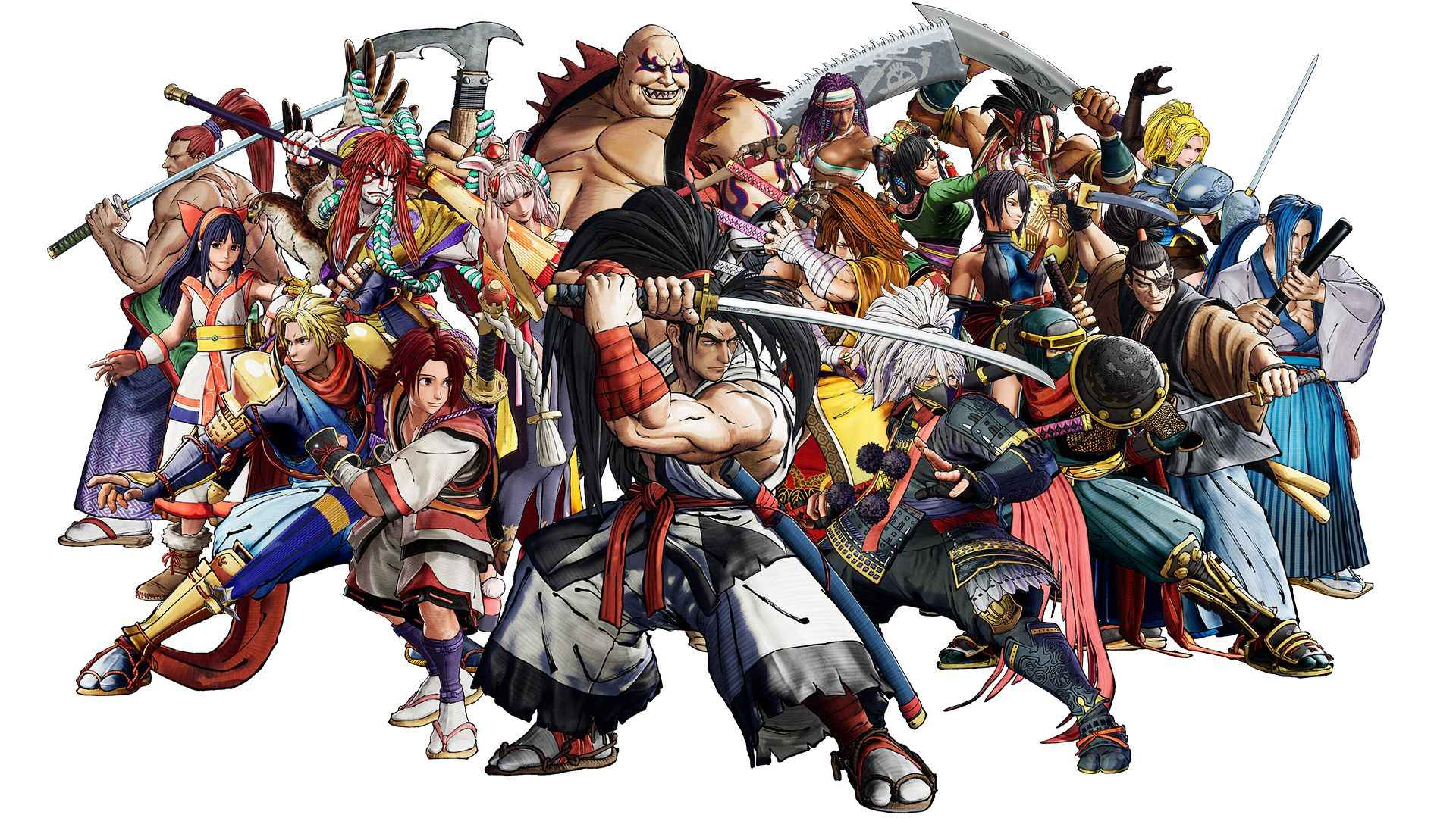 Samurai Shodown Xbox Series X|S Kämpfer