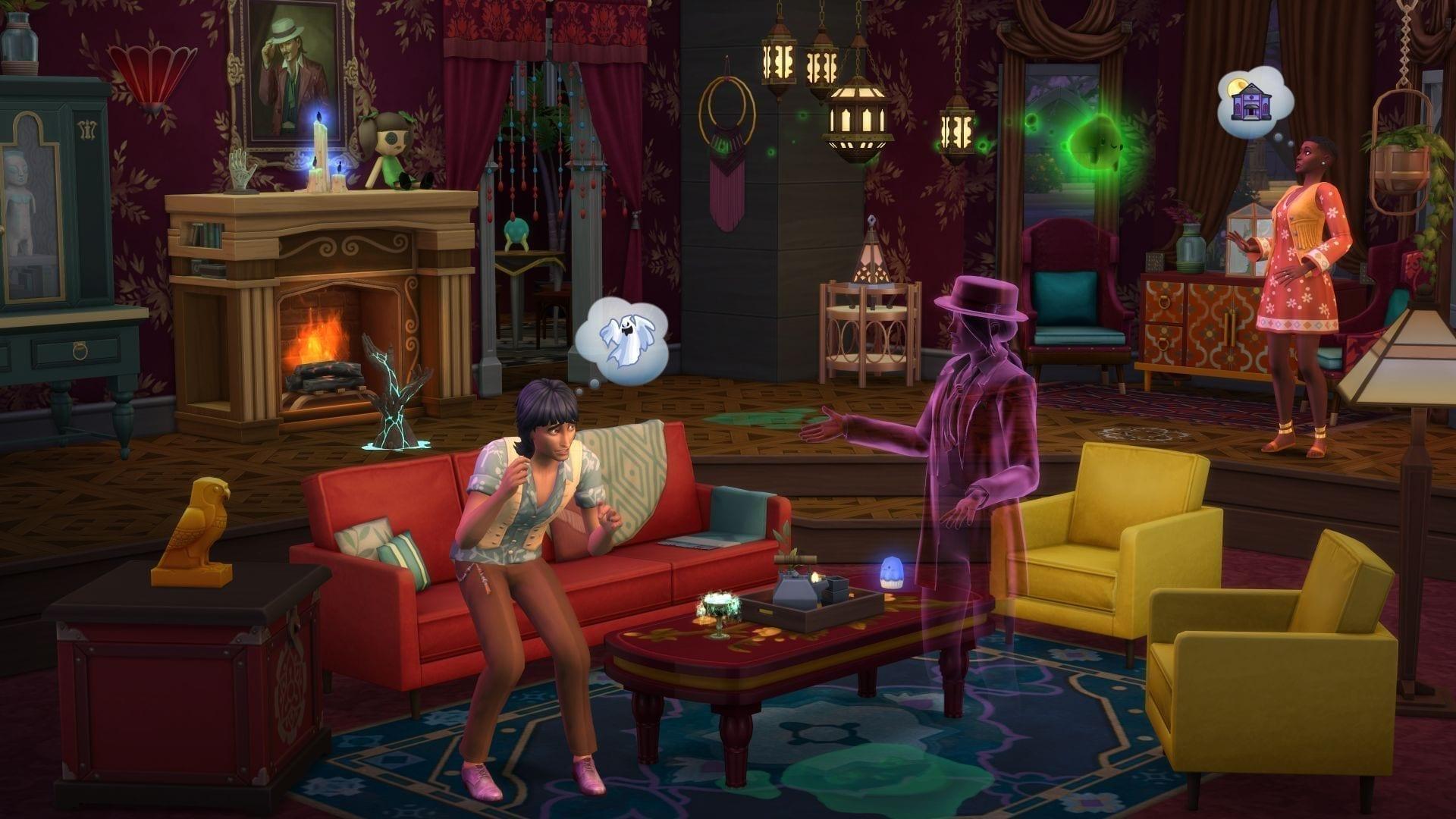 Die Sims 4 Paranormale Phänomene-Accessoires-Pack Geist