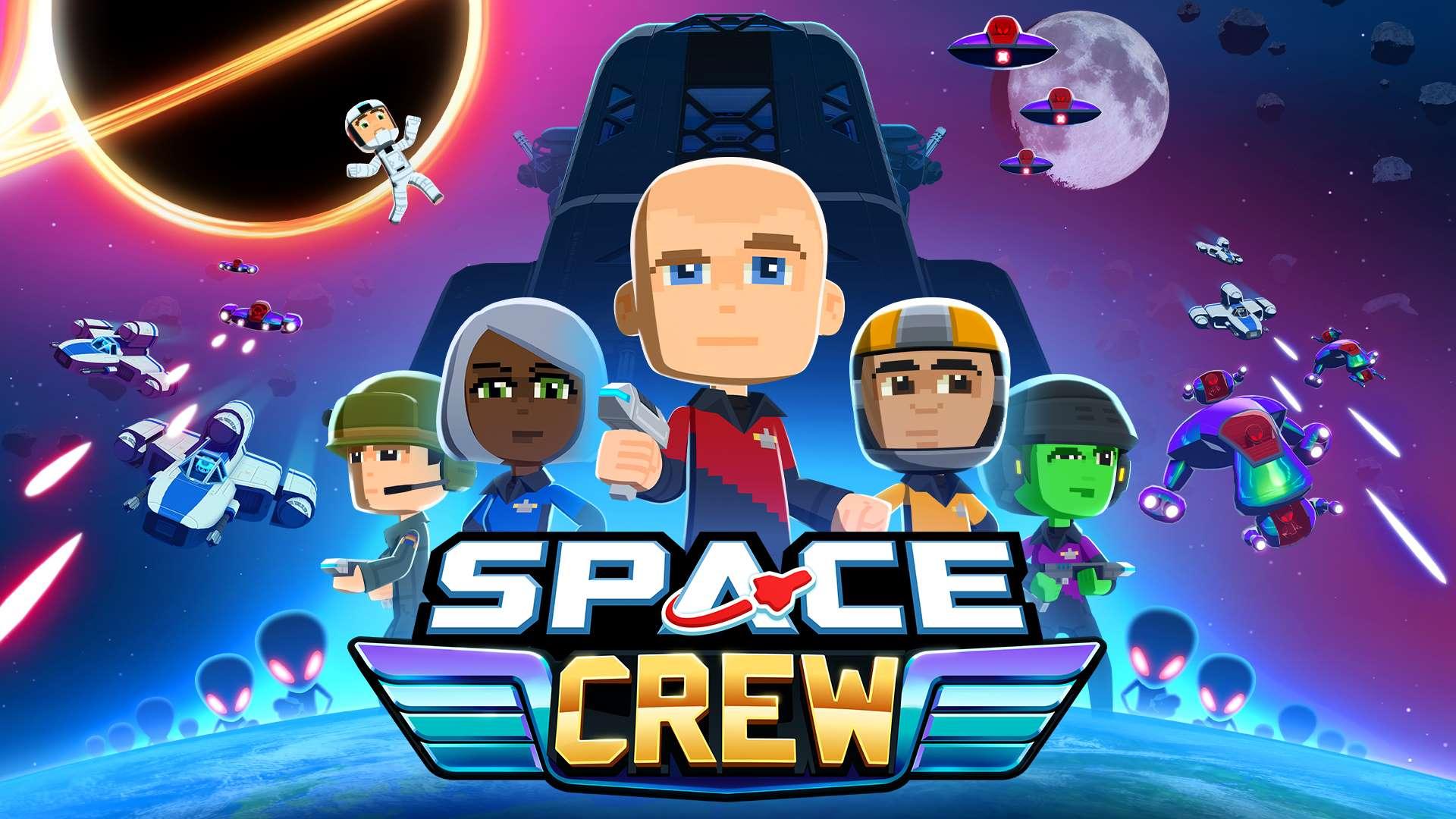 Space Crew Key Art Noch mehr Spiele für den Lockdown