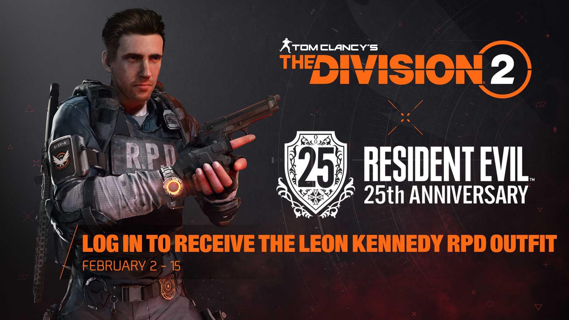 The Division Resident Evil Log In Belohnung