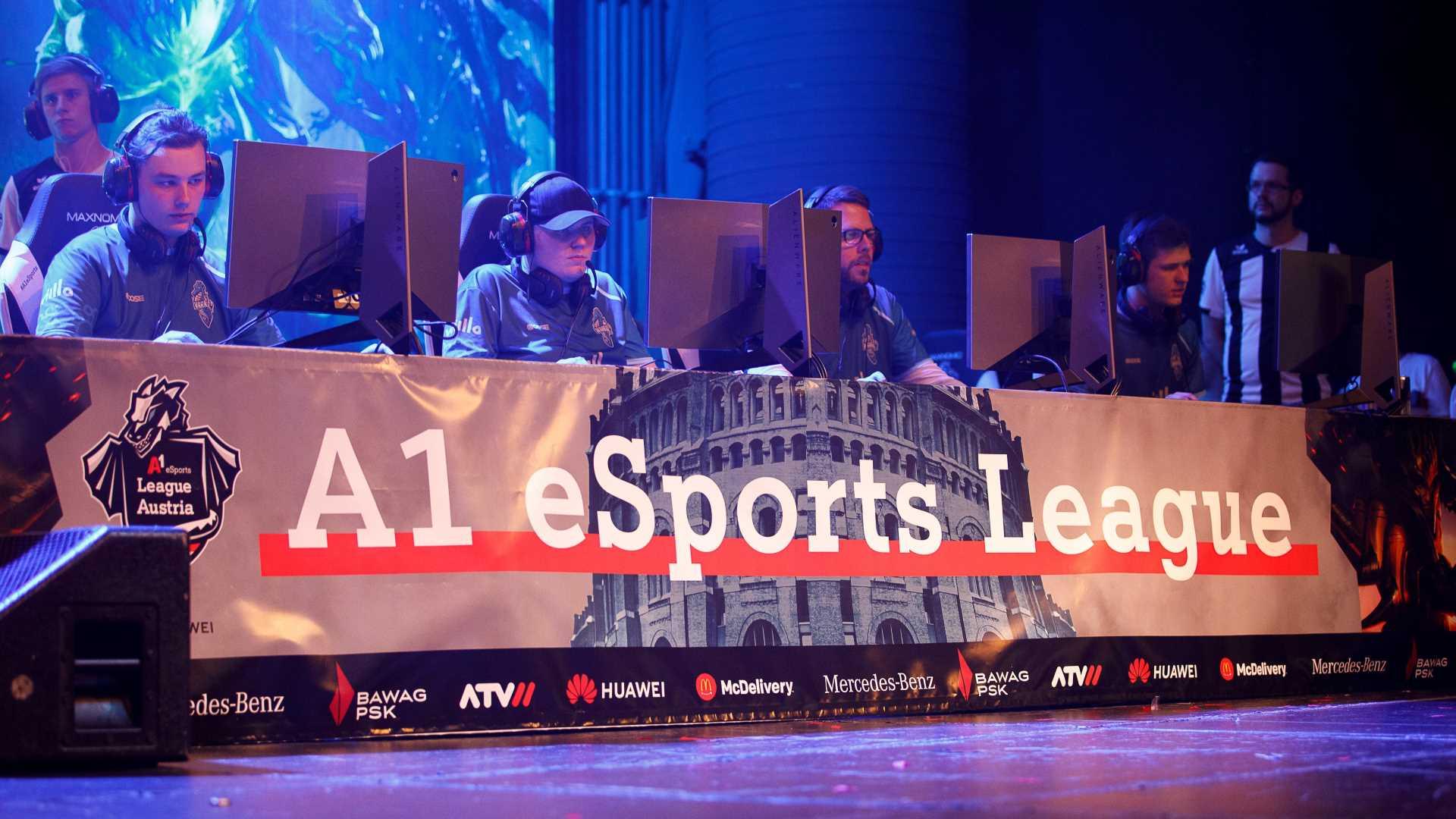 A1 eSports League Pro Series Panel