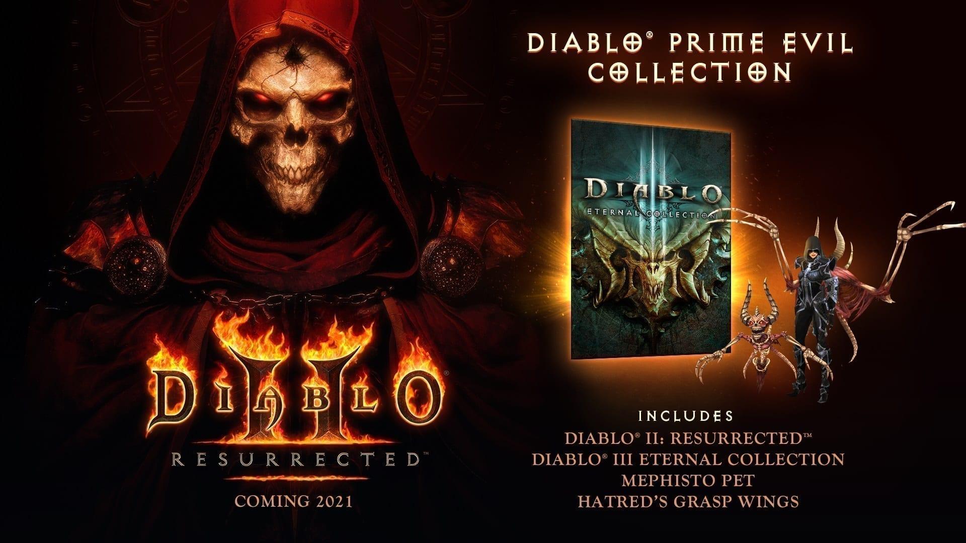 Add set to downloadsDiablo II: Resurrected - Prime Evil Collection