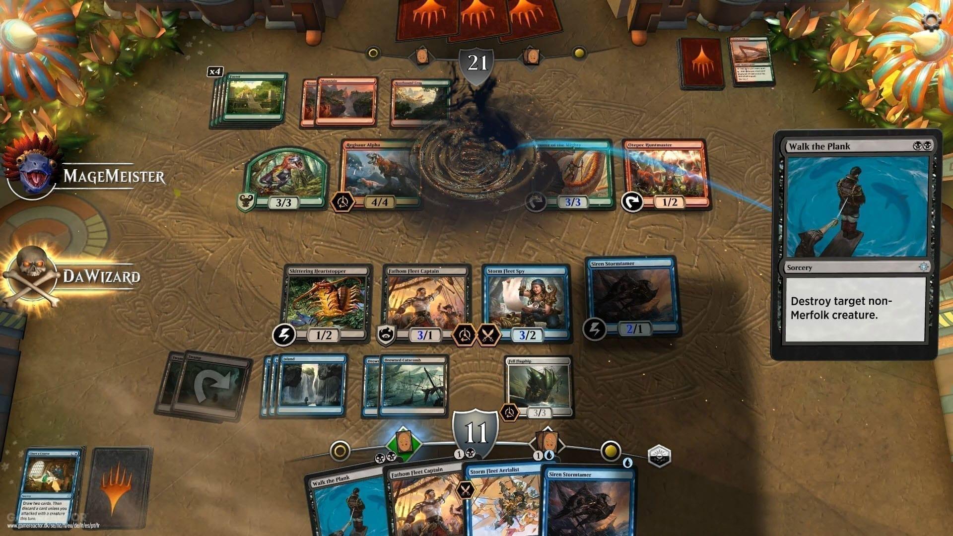 Card Battler Special Teil 2 Magic the Gathering Arena Kampf