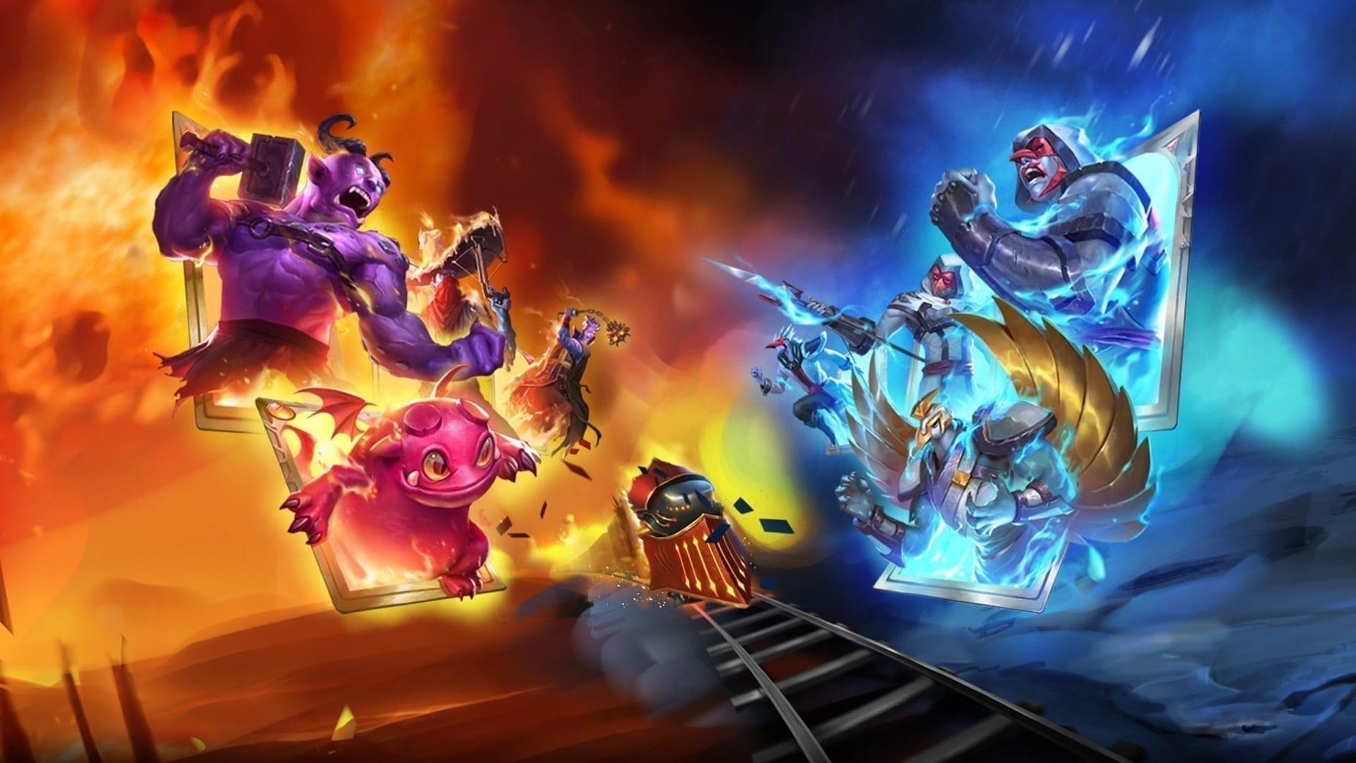 Card Battler Special Teil 1 Monster Train KeyArt