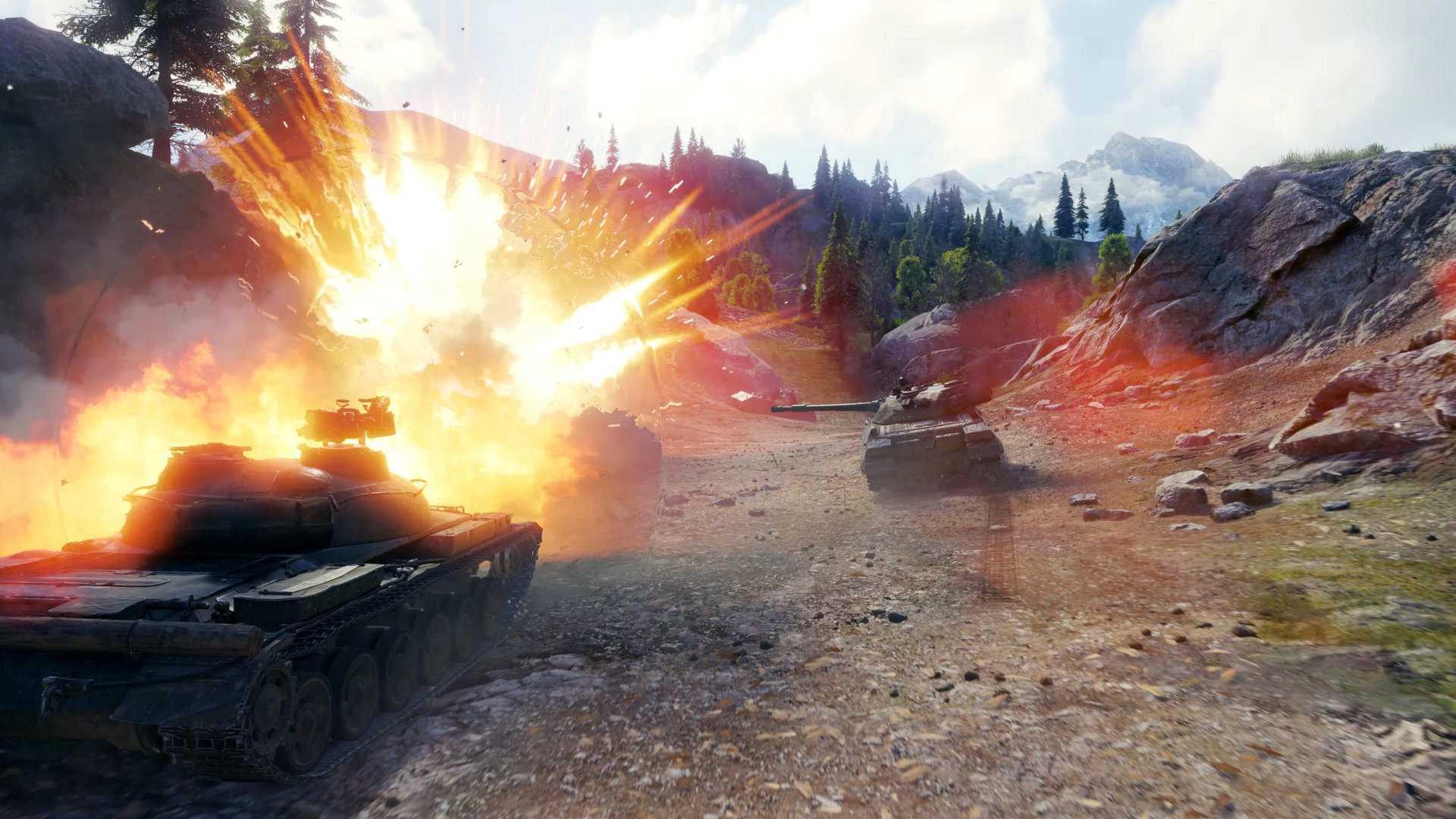 World of Tanks Steam Panzer im Kampf