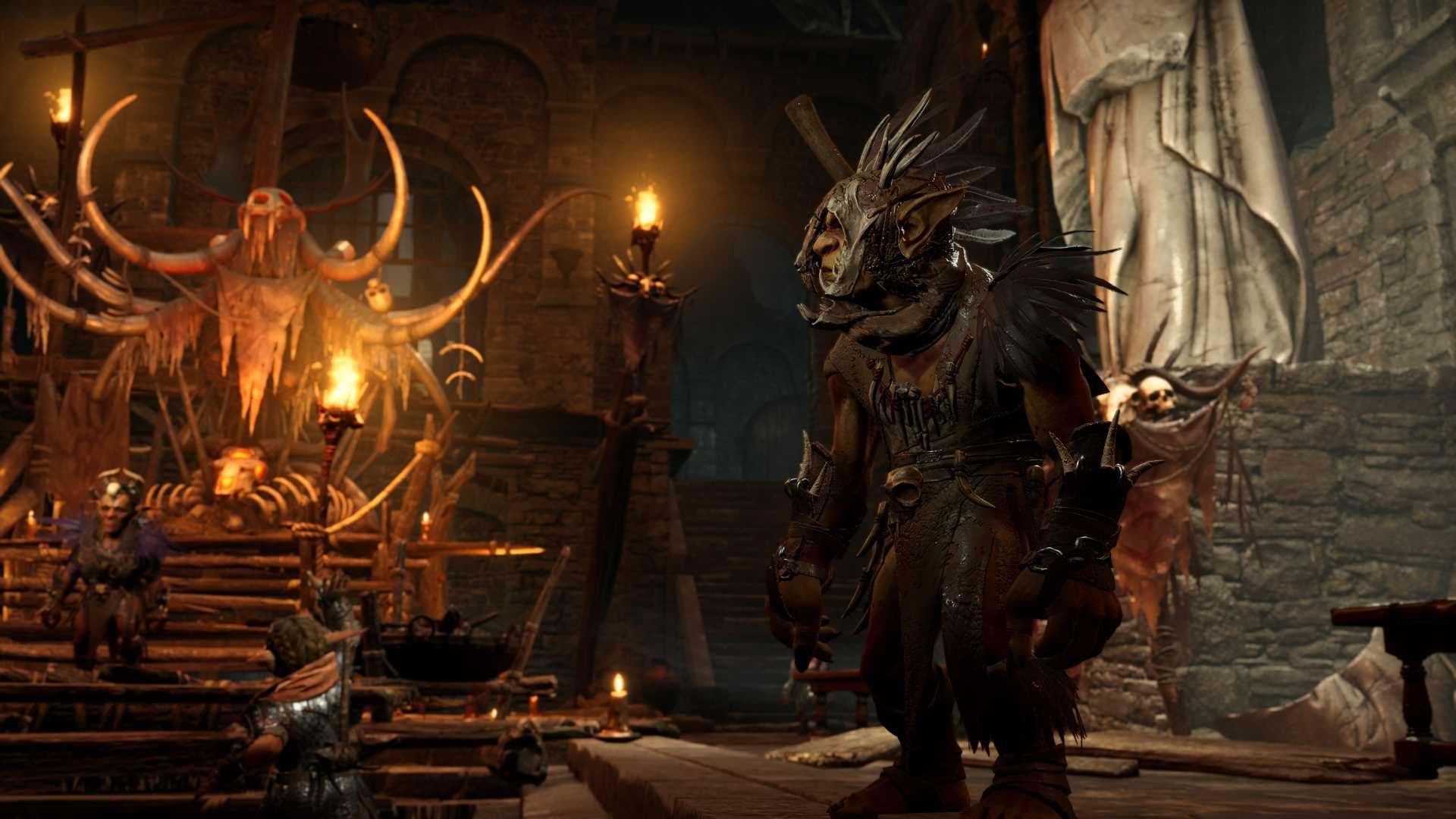 Baldur's Gate 3 Druiden Goblin