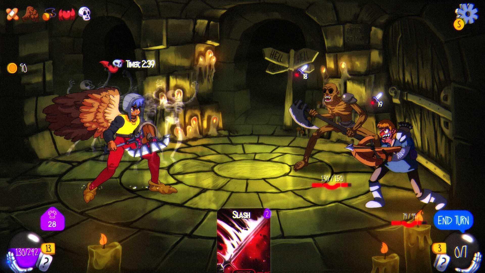 Card Battler Special Teil 2 Doors of Insanity Screenshot