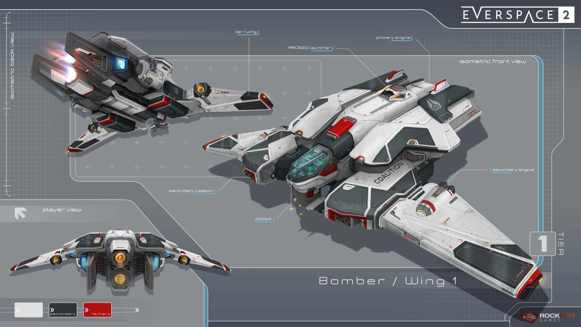 Everspace 2 Early Access Roadmap Bomber
