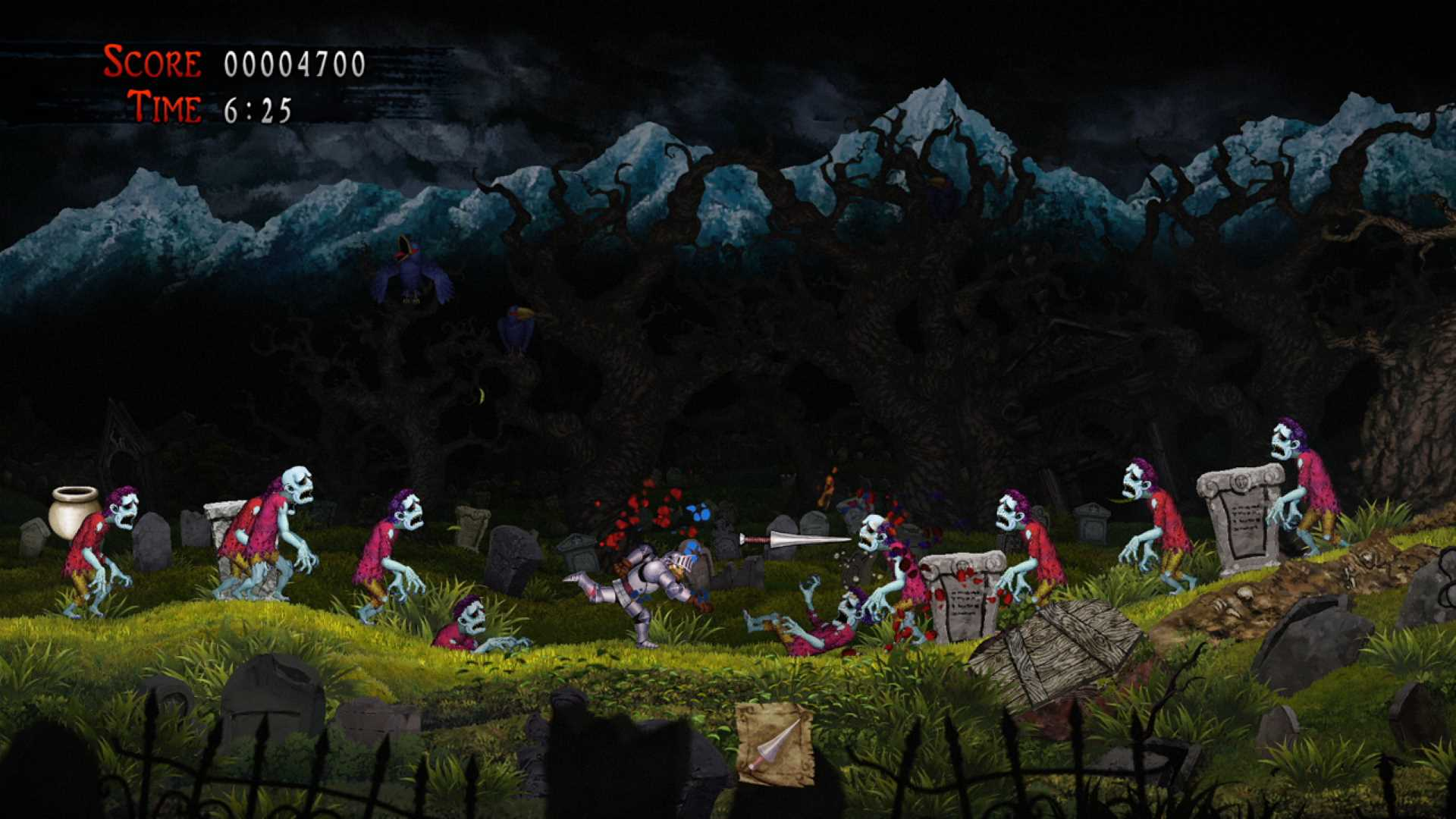 Ghosts 'n Goblins Resurrection Lanze