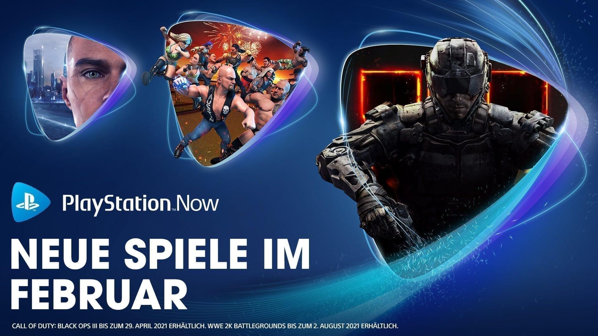 PlayStation Now Februar 2021