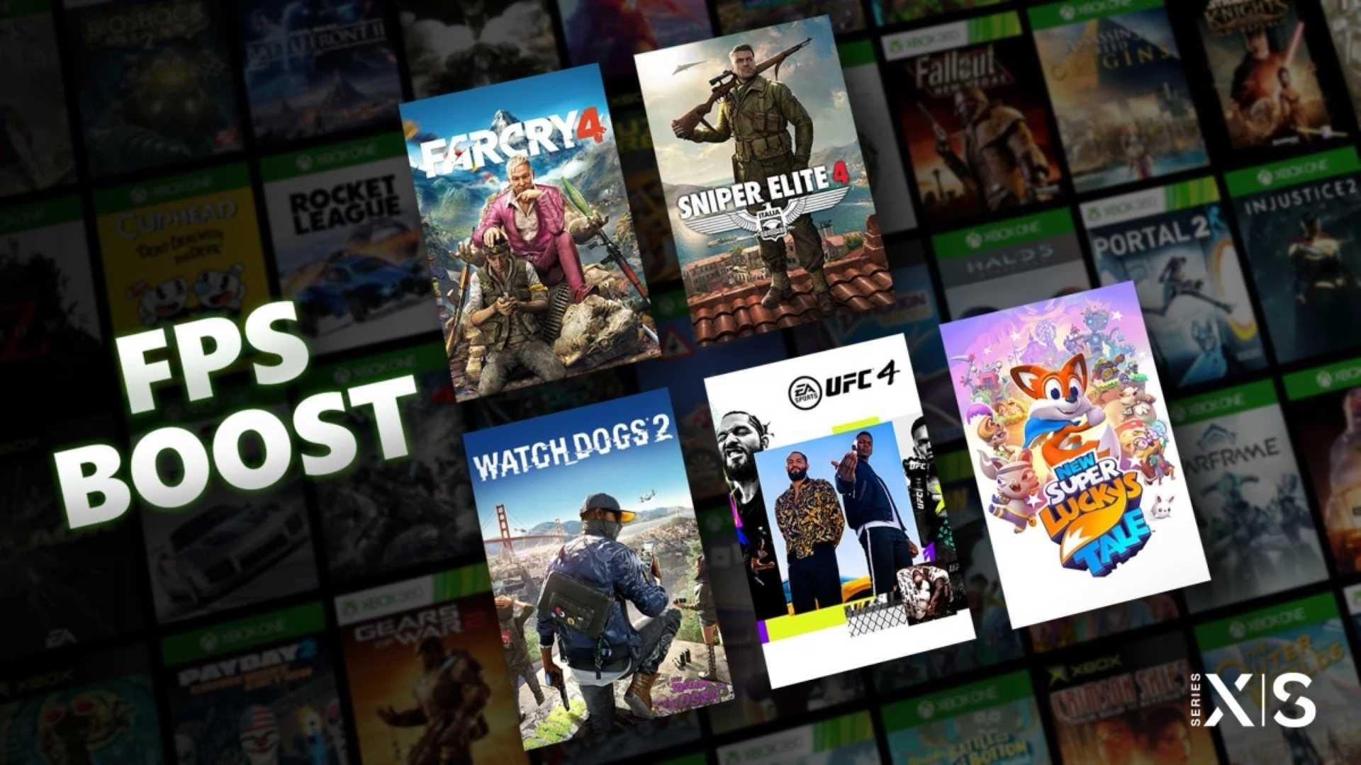 Xbox Series X|S FPS Boost Keyart
