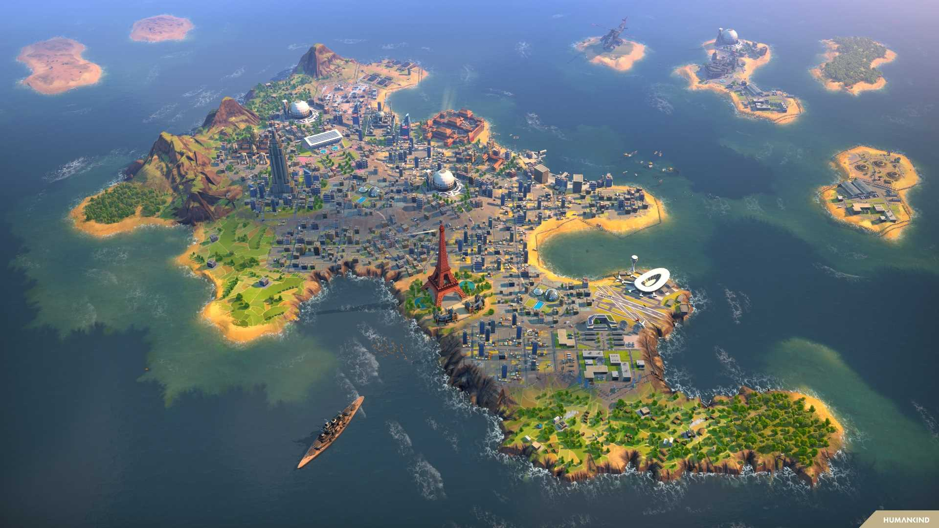 Humankind - Stadt