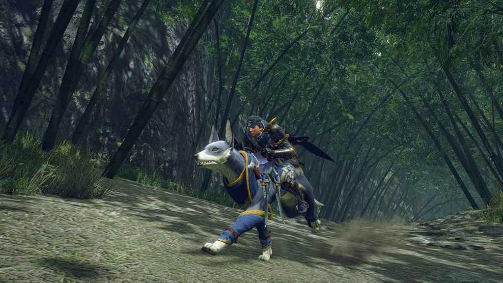 Monster Hunter Rise - Palamute