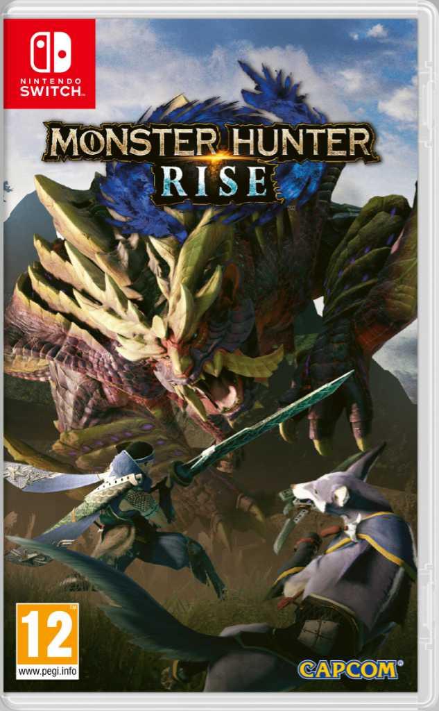 Monster Hunter Rise - Packshot PEGI
