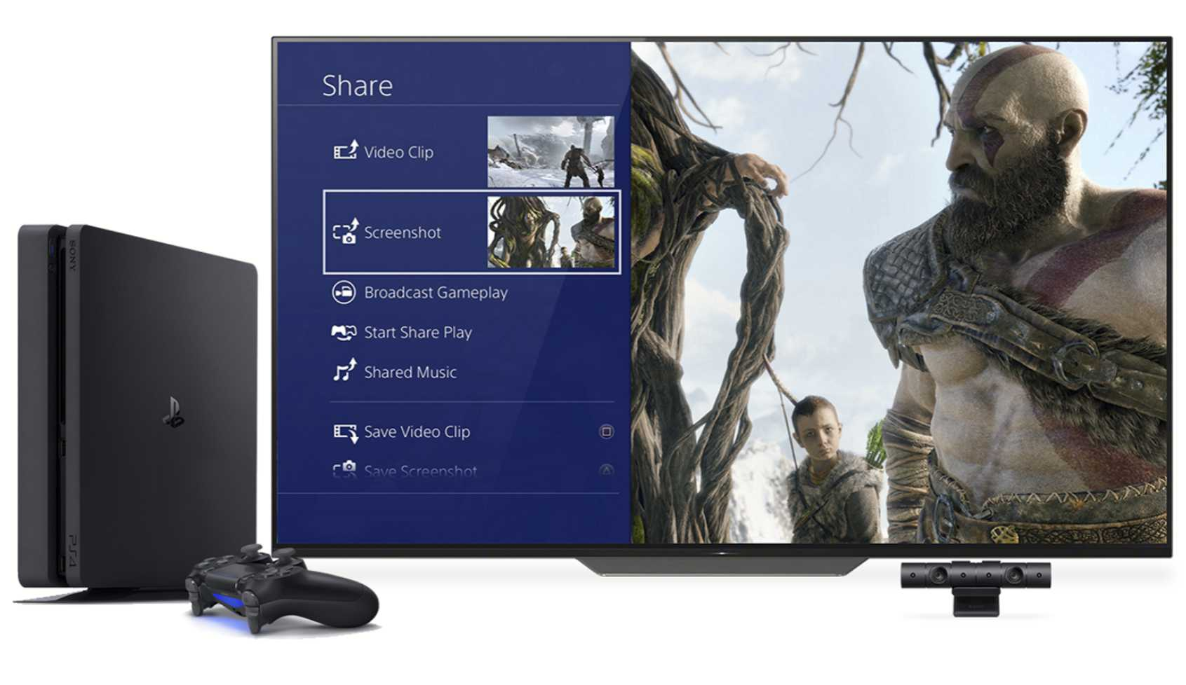 PlayStation 4 Inhalte teilen