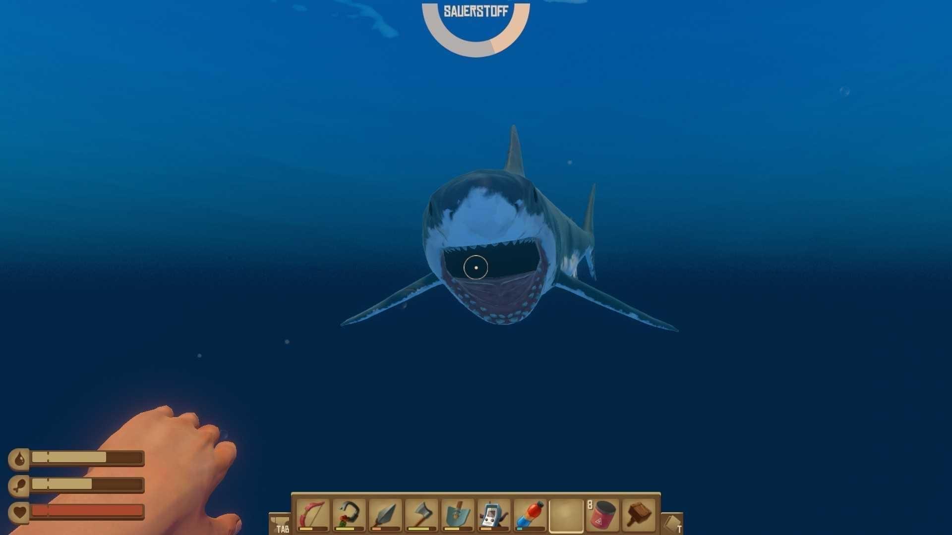 Raft - Der Hai hat uns zum Fressen gerne