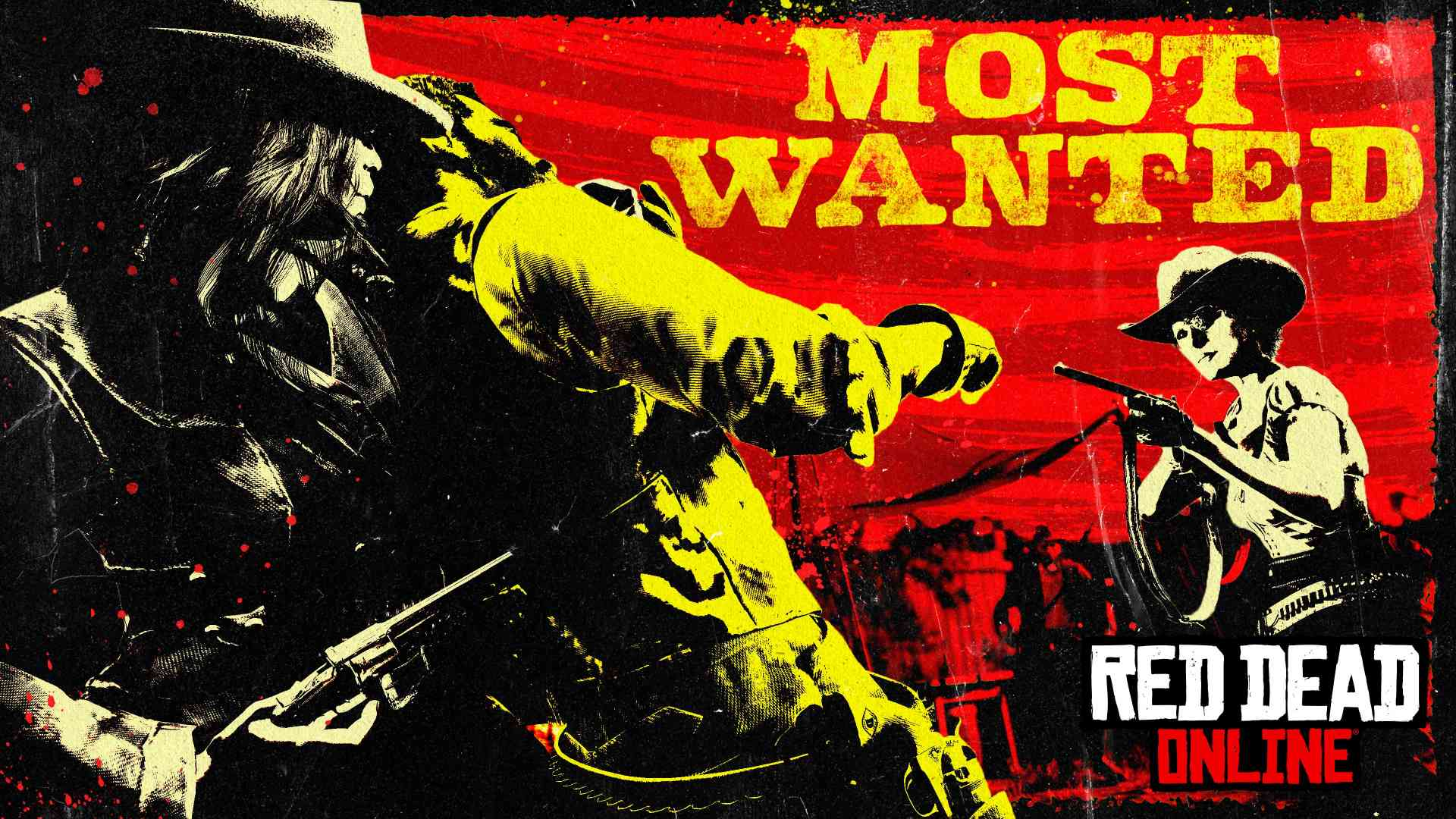 Red Dead Online Most Wanted Keyart