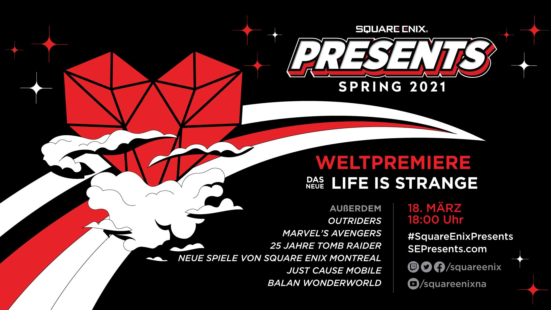 Square Enix Presents Debüt Ankündigung