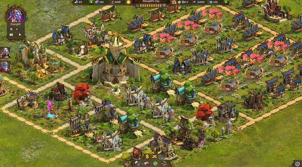 Im Browsergame Elvenar kommen Rollenspiel- und Fantasyfans auf ihre Kosten