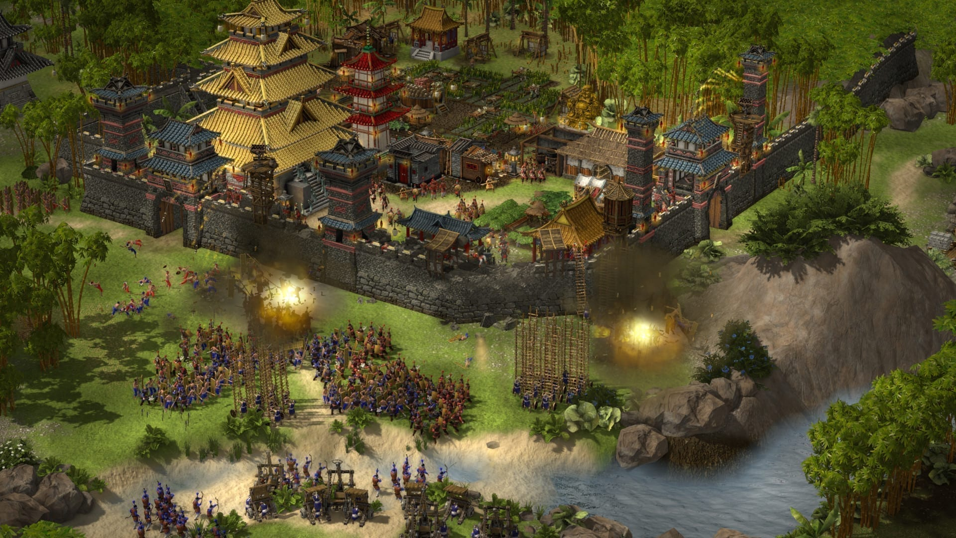 Stronghold Warlords Belagerung