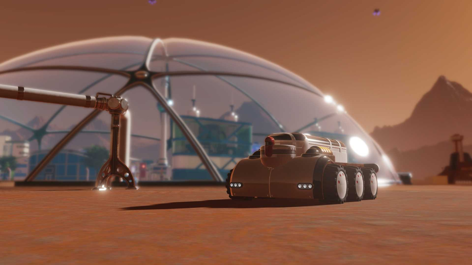 Surviving Mars Tourismus Update - Screenshot