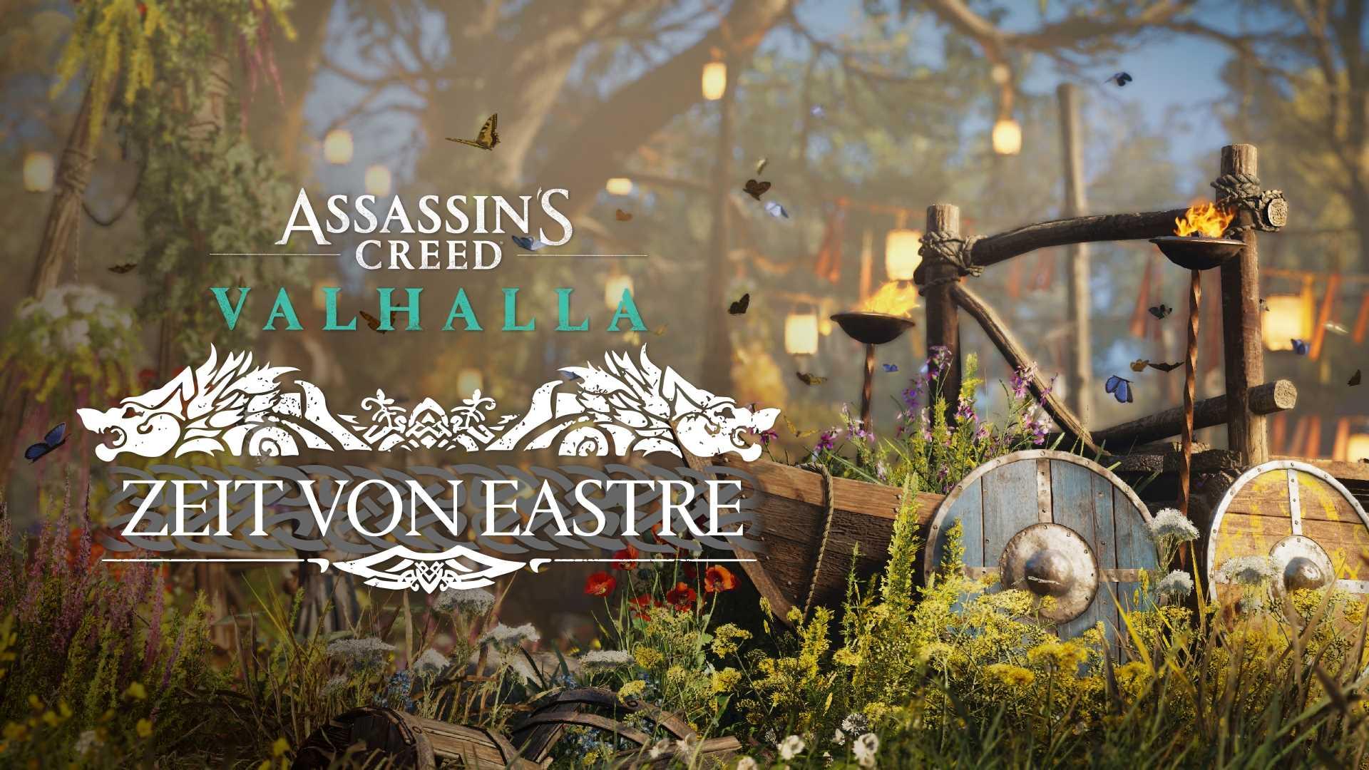 Assassin's Creed Valhalla Zorn der Druiden - Eastre-Fest Keyart