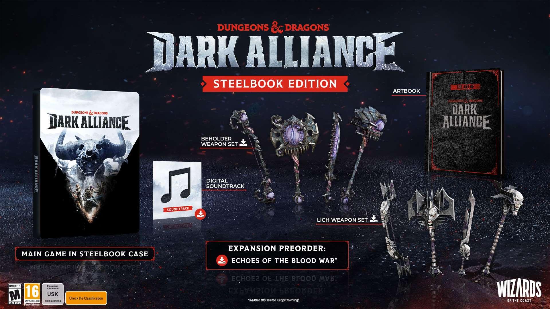 Dark Alliance - Editionen und Inhalte