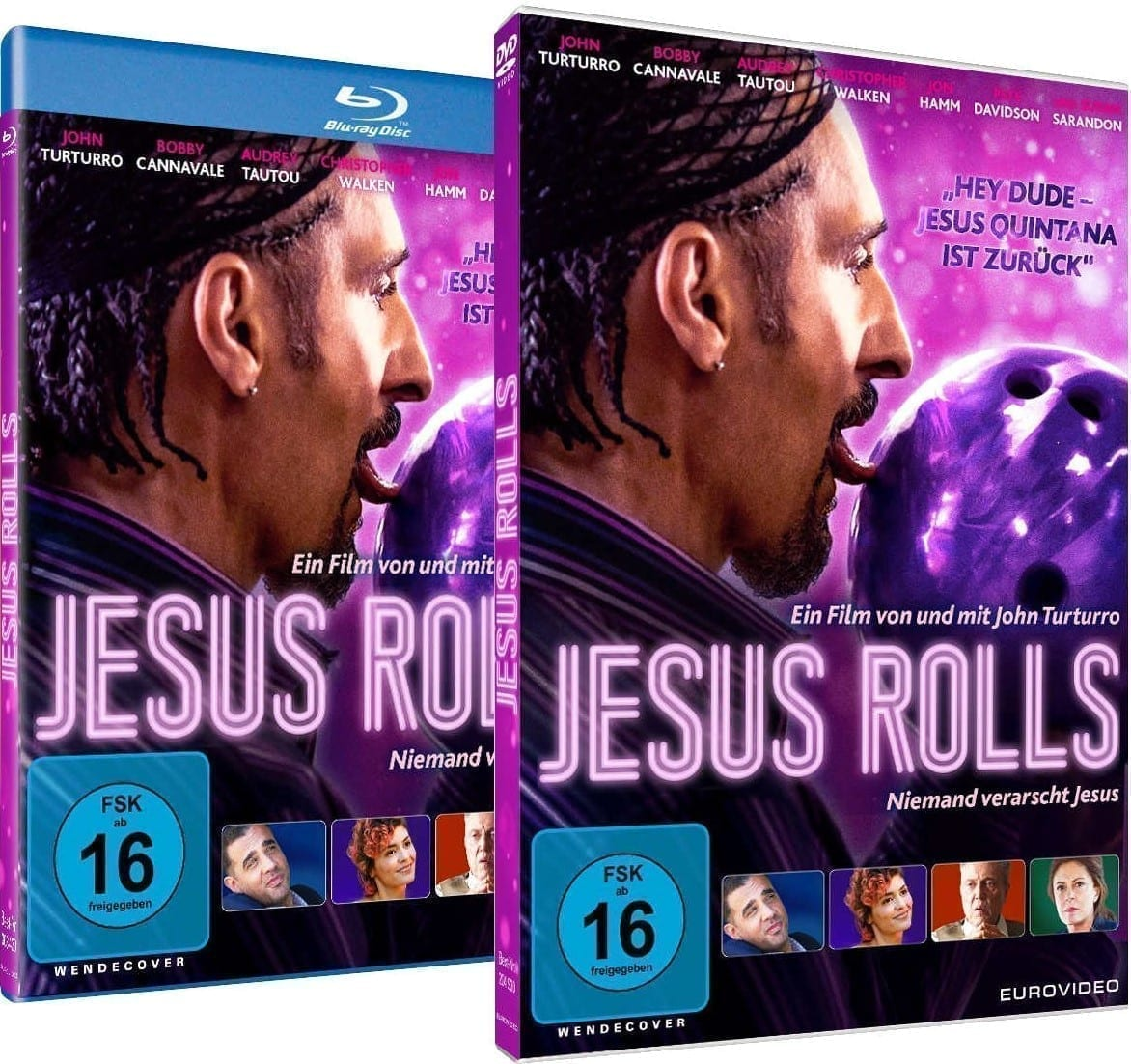 Gewinnspiel Jesus Rolls - Blur-ray DVD