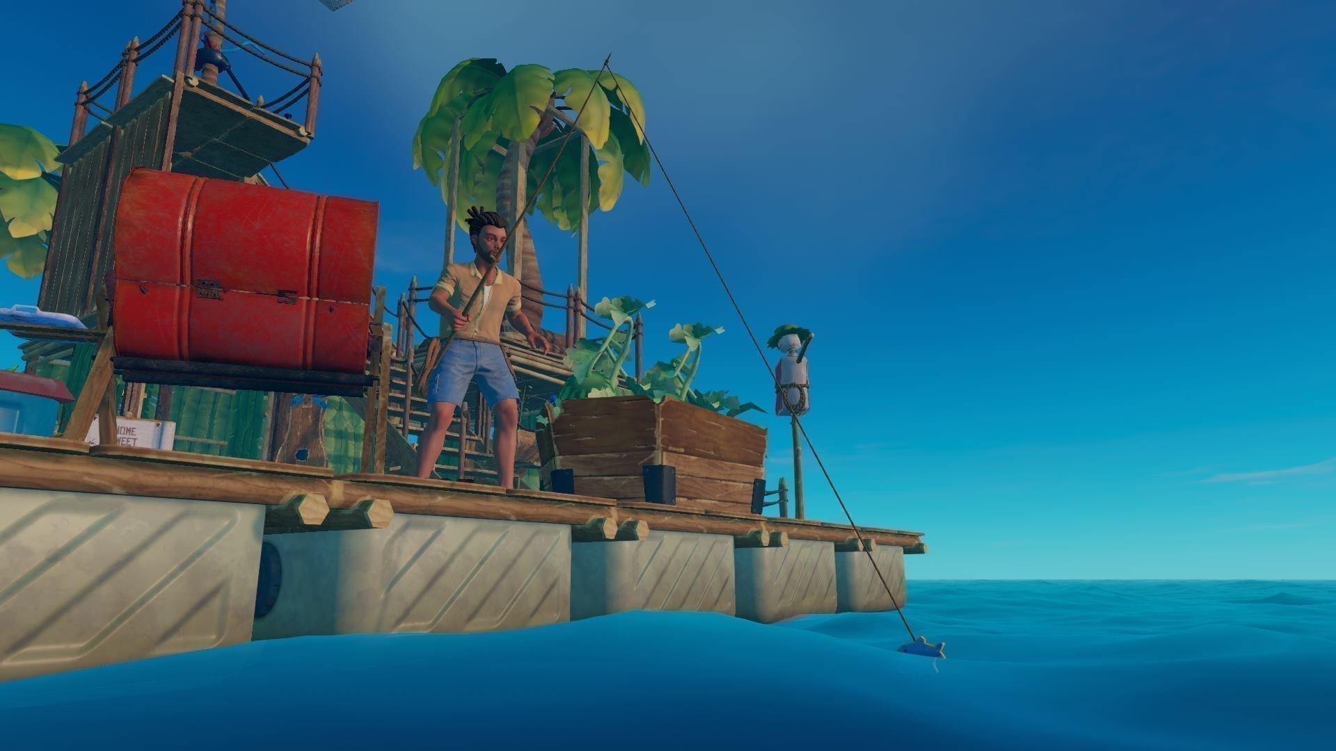 Raft - Wir angeln uns Rohstoffe