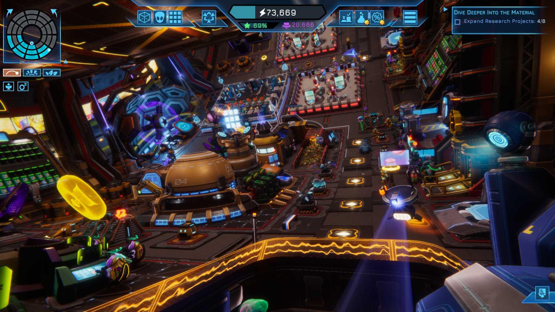 Spacebase Startopia - Screenshot