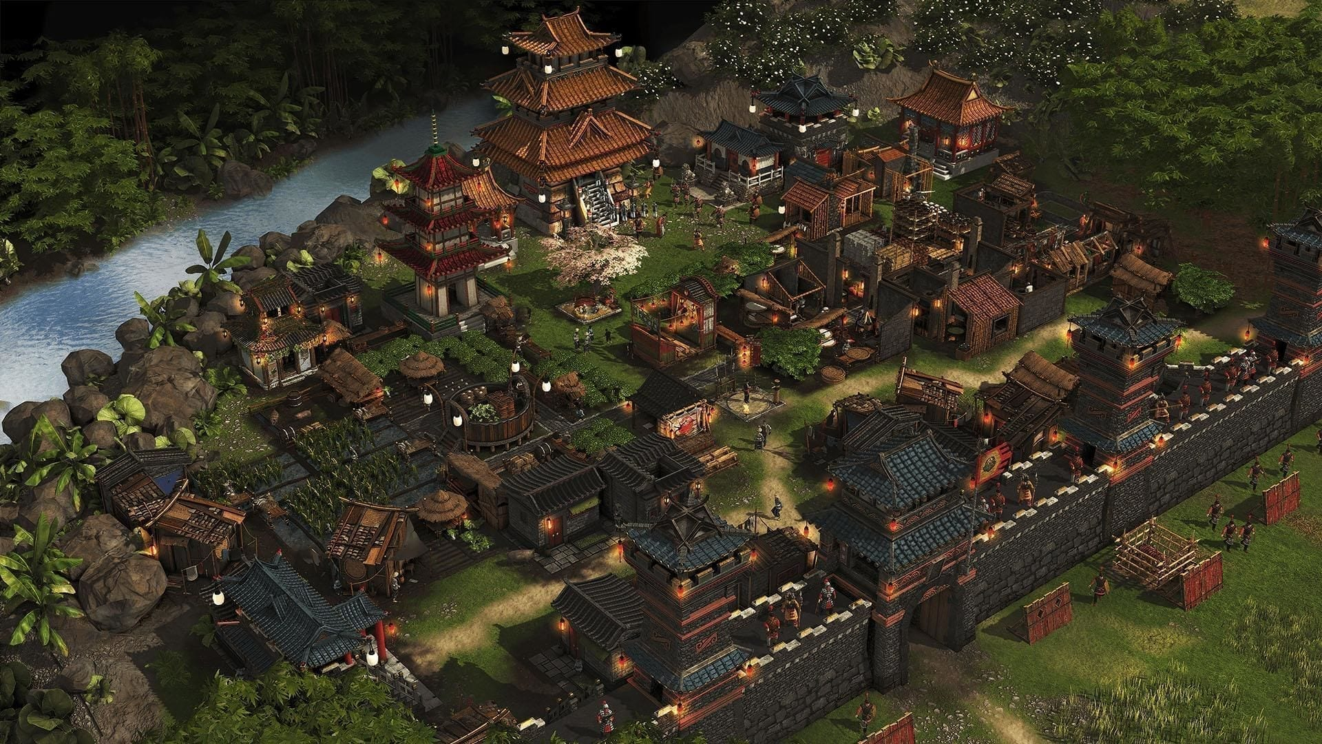 Stronghold Warlords Stadt